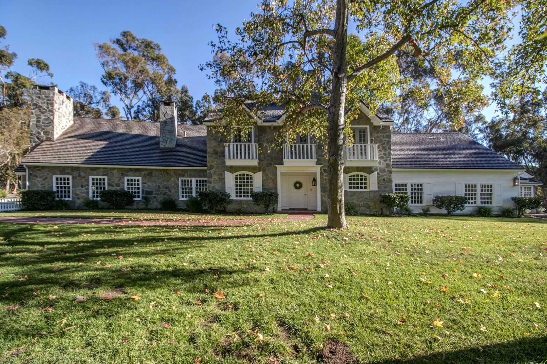 Casa Unifamiliar por un Venta en 15152 Las Planideras Rancho Santa Fe, California, 92067 Estados Unidos