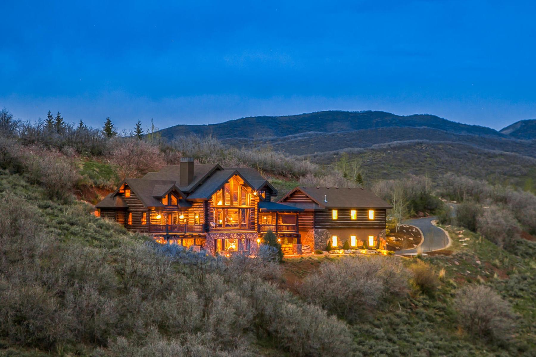 獨棟家庭住宅 為 出售 在 Simply Stunning Mountain Home 4115 Moose Hollow Dr Park City, 猶他州, 84098 美國