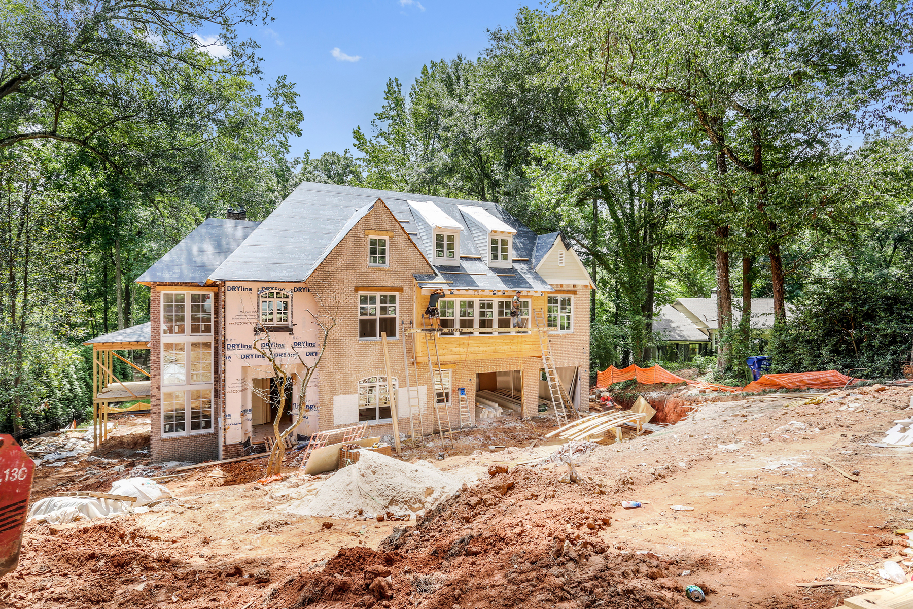 단독 가정 주택 용 매매 에 Beautiful New Construction In Chastain Park 496 Broadland Road NW Atlanta, 조지아 30342 미국