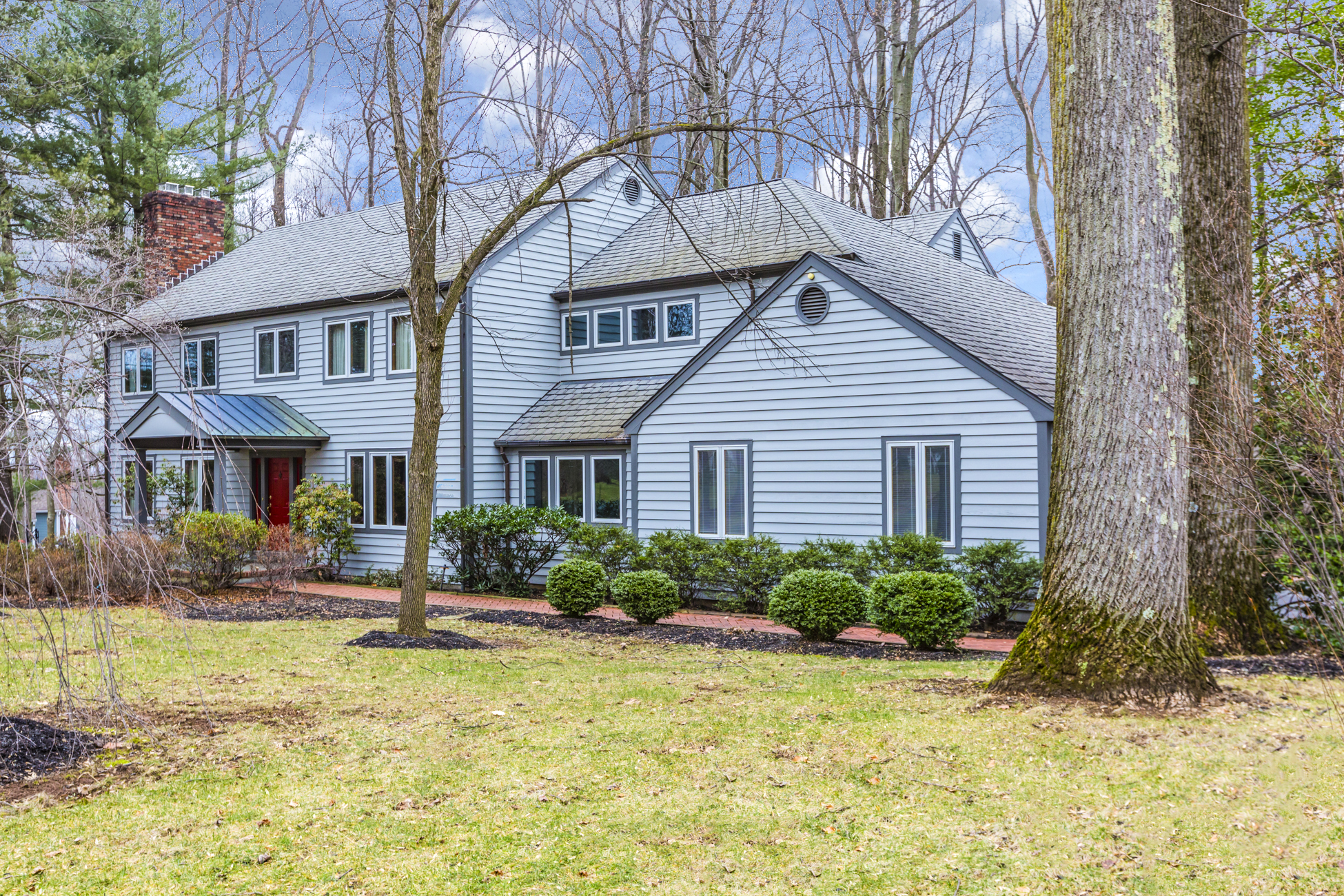 Single Family Home for Sale at Princeton Cul-De-Sac Home Impresses and Inspires 89 Dogwood Hill Princeton, New Jersey, 08540 United States