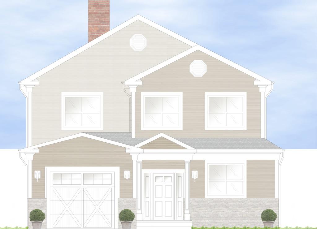 Einfamilienhaus für Verkauf beim New Construction 433 Carol Place Pelham, New York 10803 Vereinigte Staaten