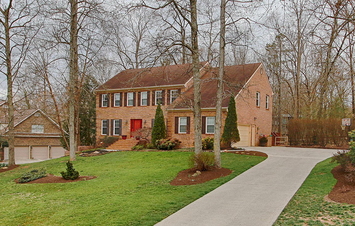sales property at Beautiful Brick Home in Briarcliff