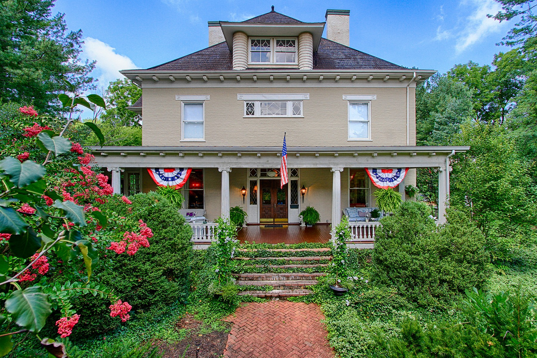 Property For Sale at Historic Greeneville Home