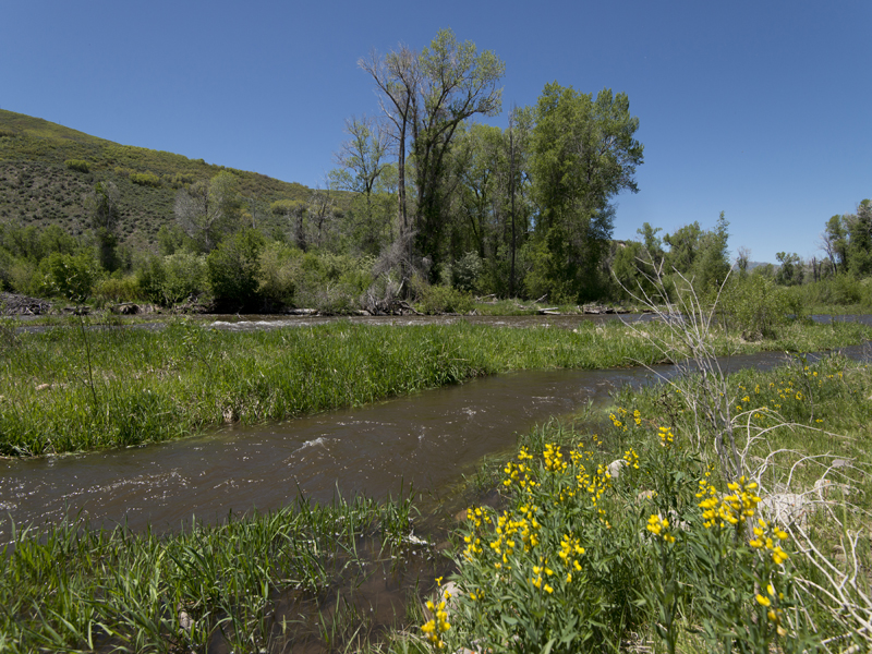 Property For Sale at Twenty-two acres with Weber River Frontage
