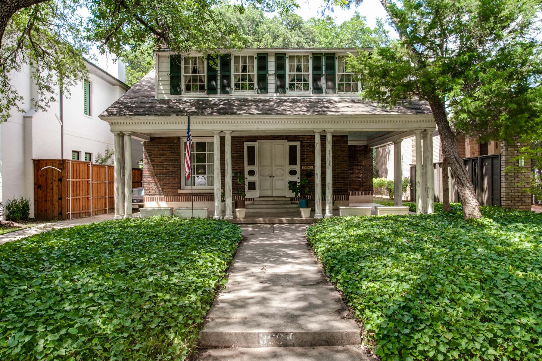 独户住宅 为 销售 在 Great Location for Redo or Lot 3604 Harvard Avenue 达拉斯, 得克萨斯州, 75205 美国