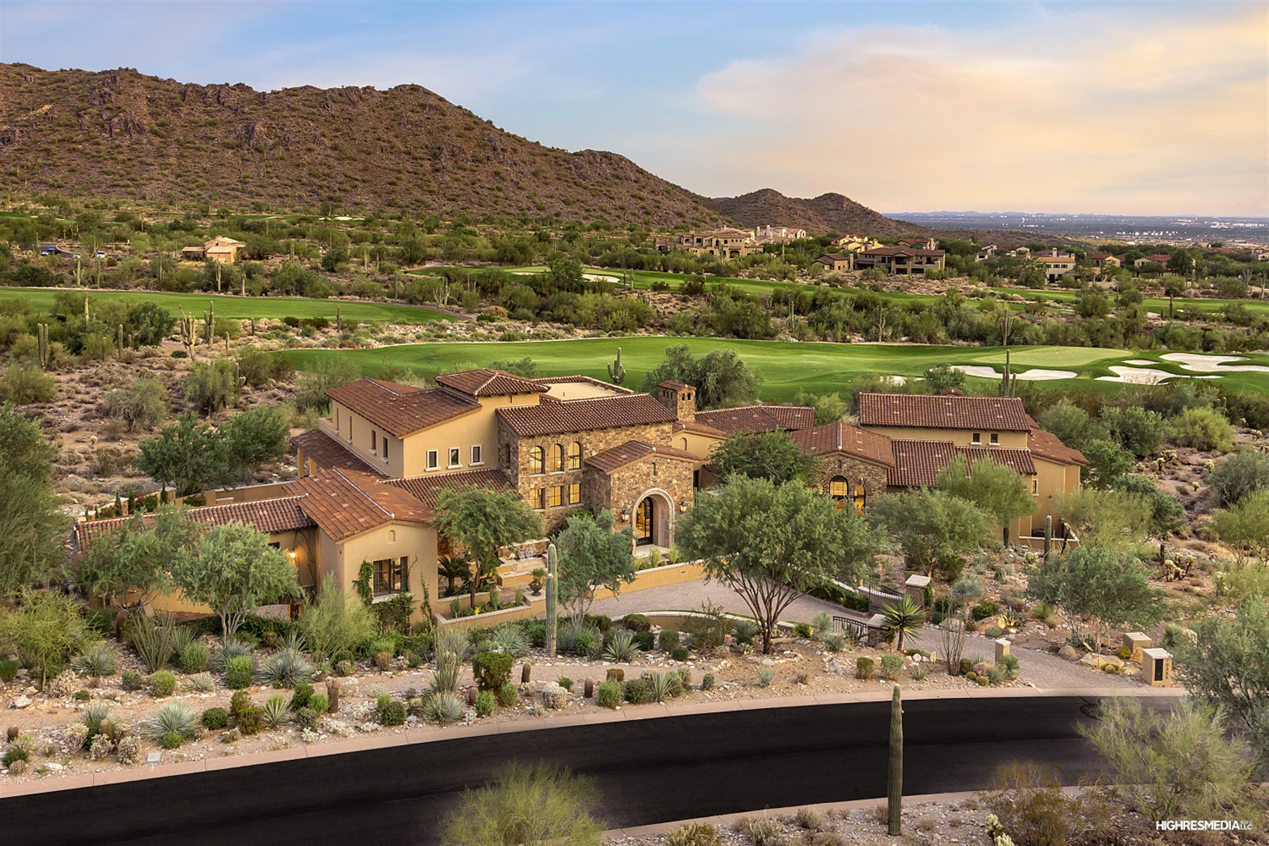 Maison unifamiliale pour l Vente à One of the finest residences Silverleaf has to offer 10355 E Robs Camp Rd Scottsdale, Arizona 85255 États-Unis