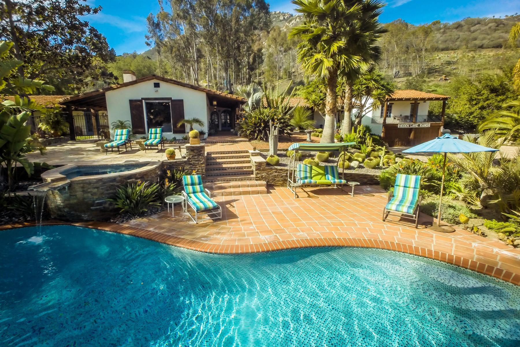 Ferme / Ranch / Plantation pour l Vente à 9556 Del Dios Highway Escondido, Californie 92029 États-Unis