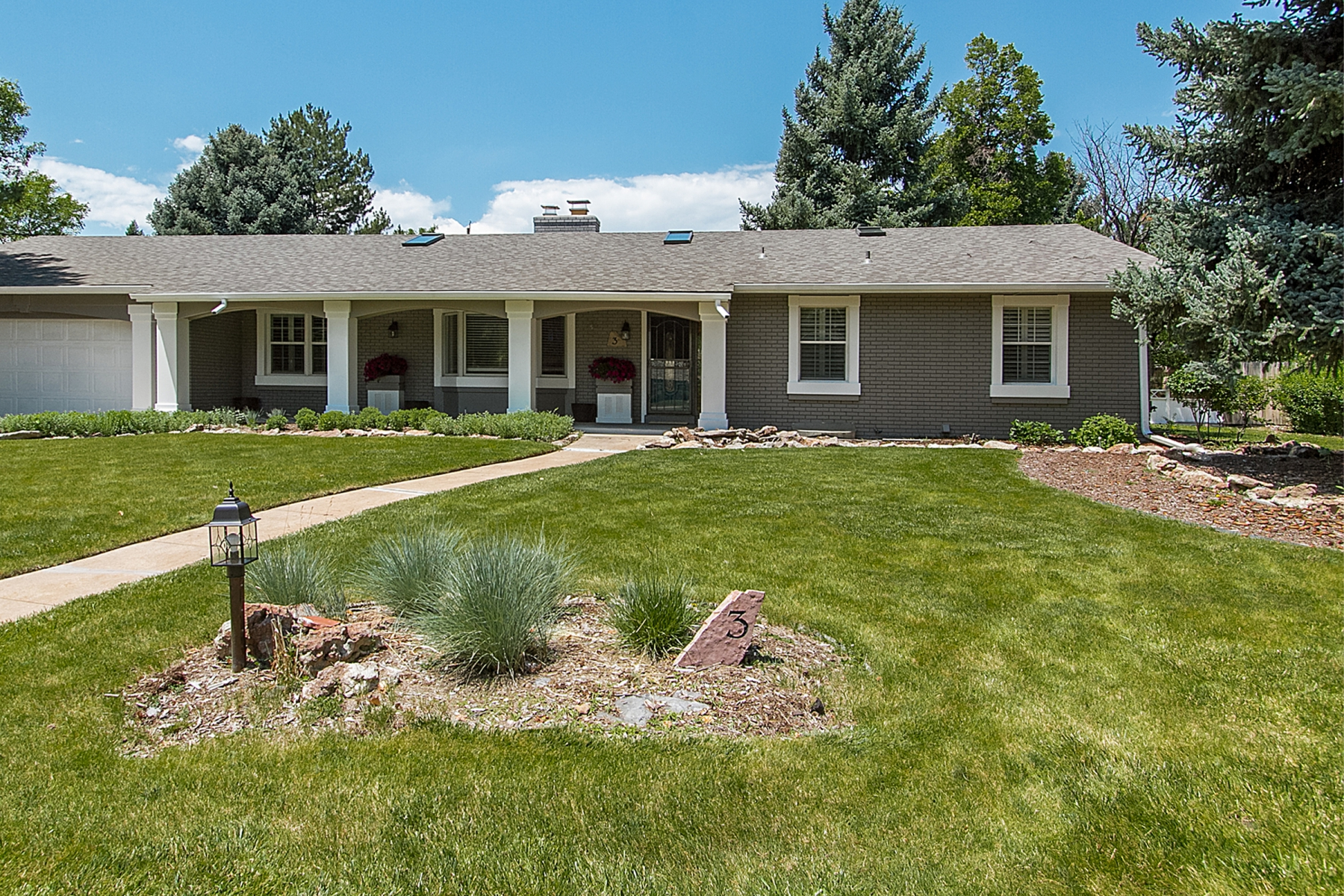Single Family Home for Sale at Charming Four Bedroom Complete Remodel Ranch 3 Robincrest Lane Littleton, Colorado 80123 United States