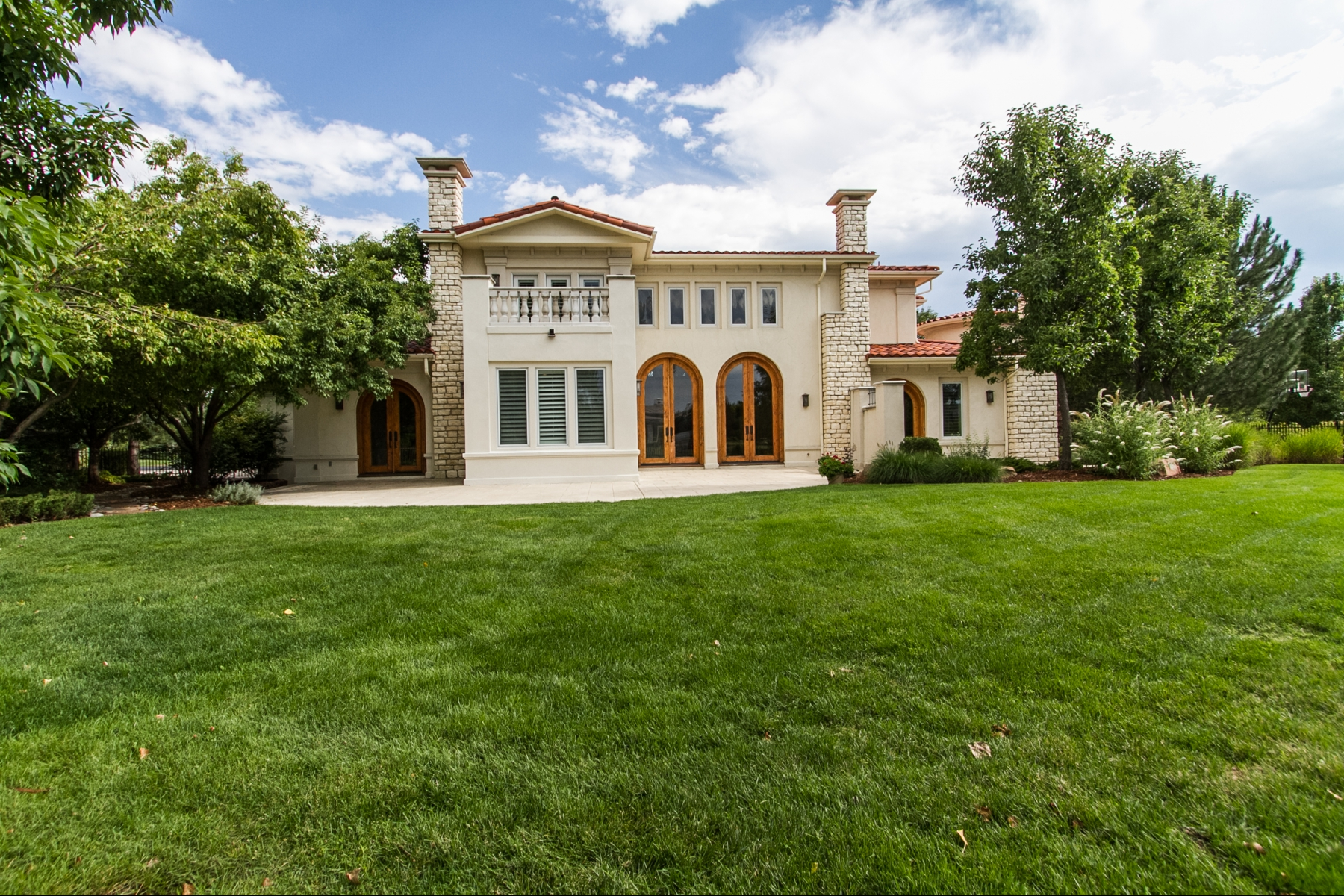 Property For Sale at Exquisite, upscale masterpiece backing to Buell Lake