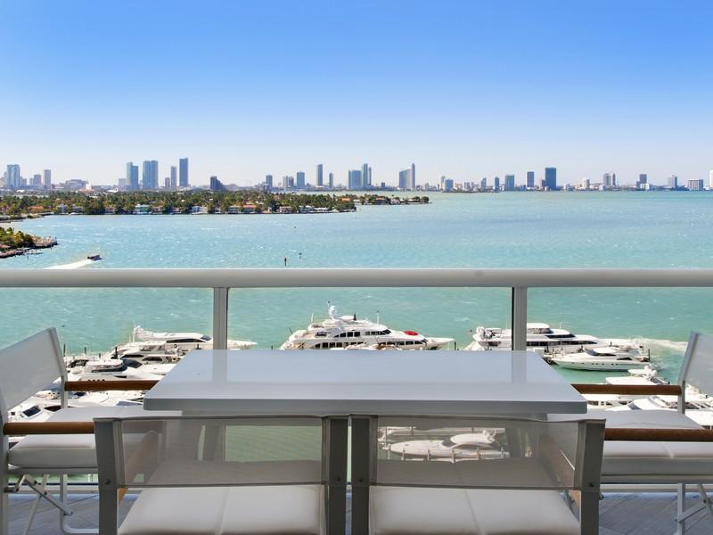 Condomínio para Venda às 1800 Sunset Harbour Dr Unit 1510 Miami Beach, Florida 33139 Estados Unidos