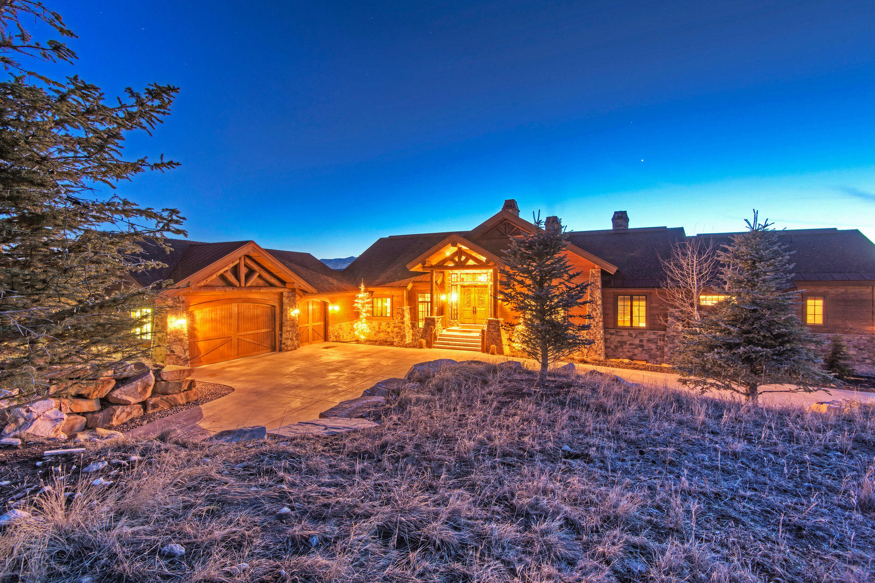 Casa Unifamiliar por un Venta en Pristine Mountain Lodge Home in Promontory with Panoramic Mountain Views 6262 Dakota Trail Lot #32 Park City, Utah 84098 Estados Unidos