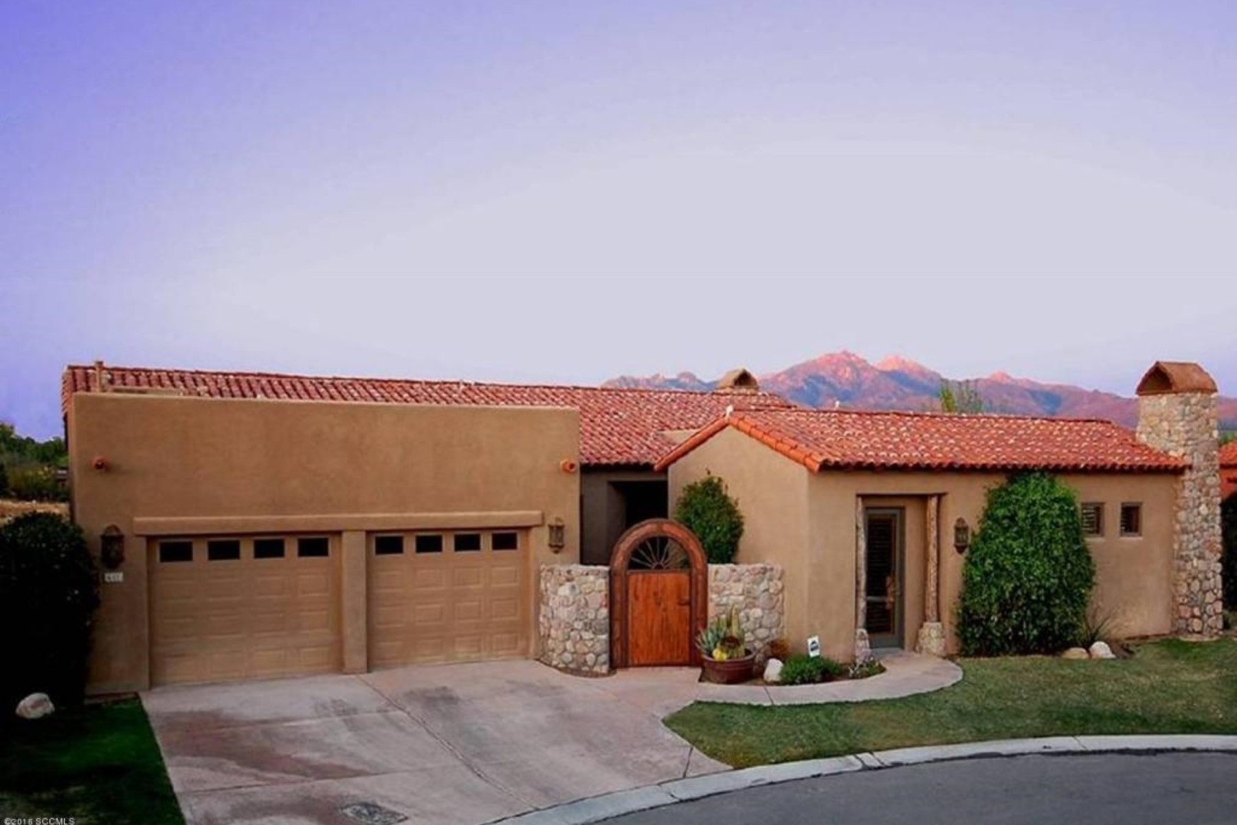 Single Family Home for Sale at Stunning home in the Sanctuary at Tubac Golf Resort 63 Rosalies Ct Tubac, Arizona, 85646 United States