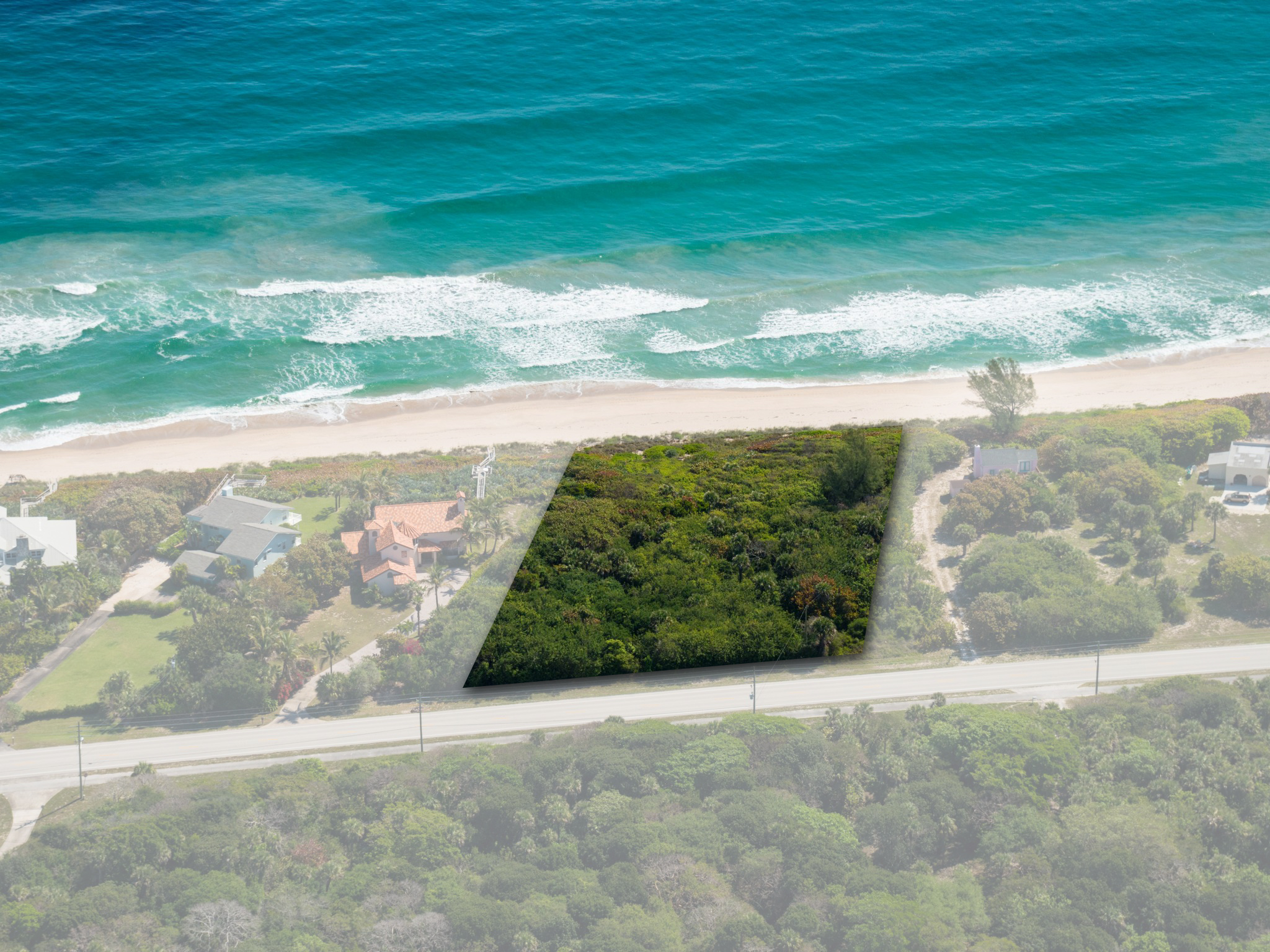 Land for Sale at Serene Oceanfront Vacant Land 8955 Highway A1A Melbourne Beach, Florida 32951 United States