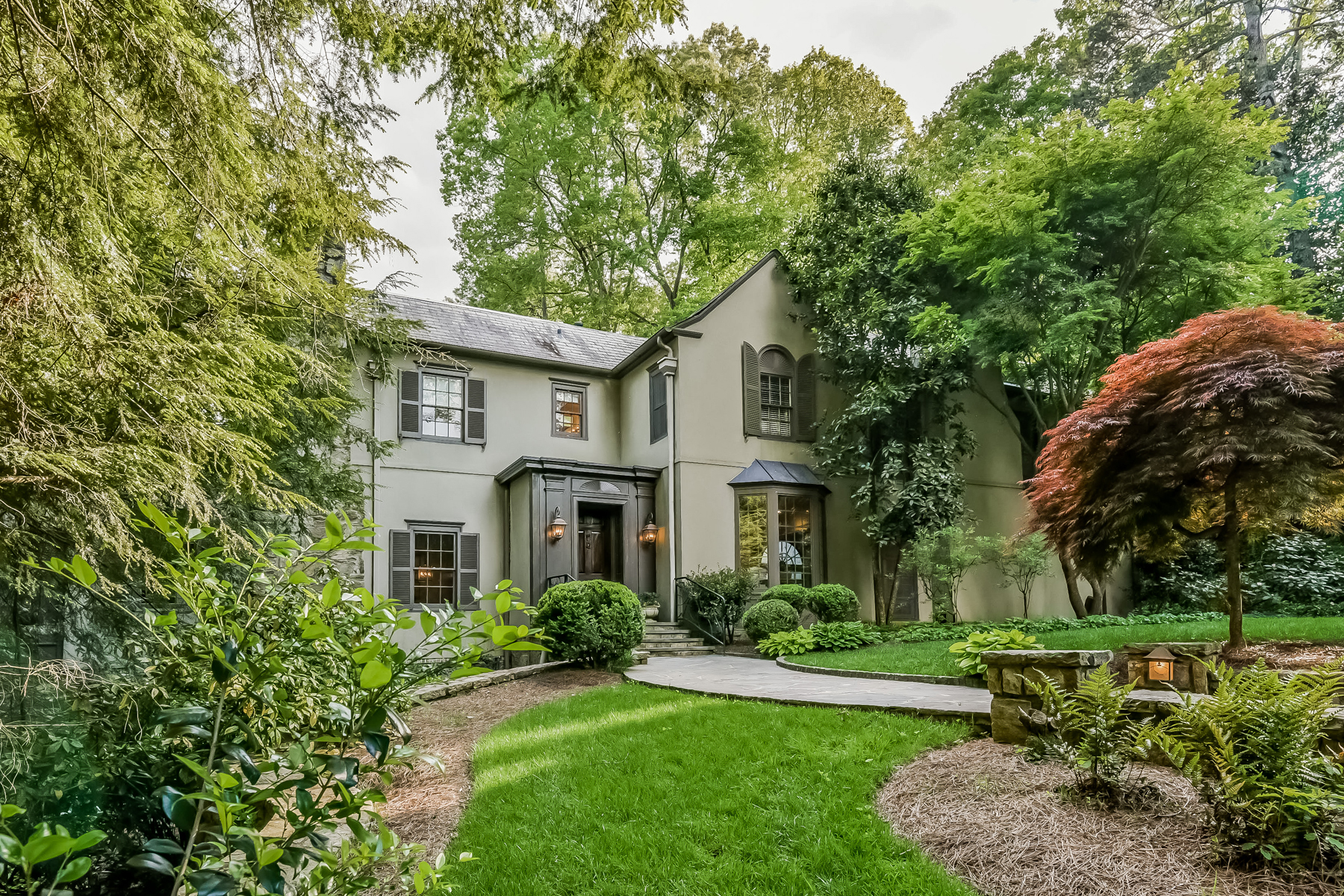 Property For Sale at European Style Home On 1.85+/- Acres In Buckhead