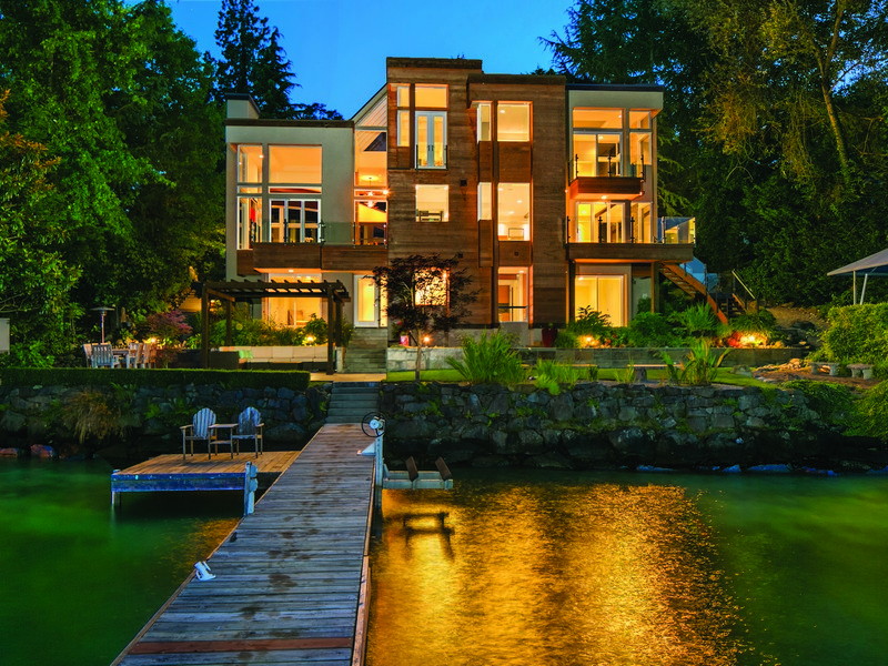Single Family Home for Sale at Perfectly Executed Luxury Modern Estate 9950 SE 35th Place Mercer Island, Washington 98040 United States