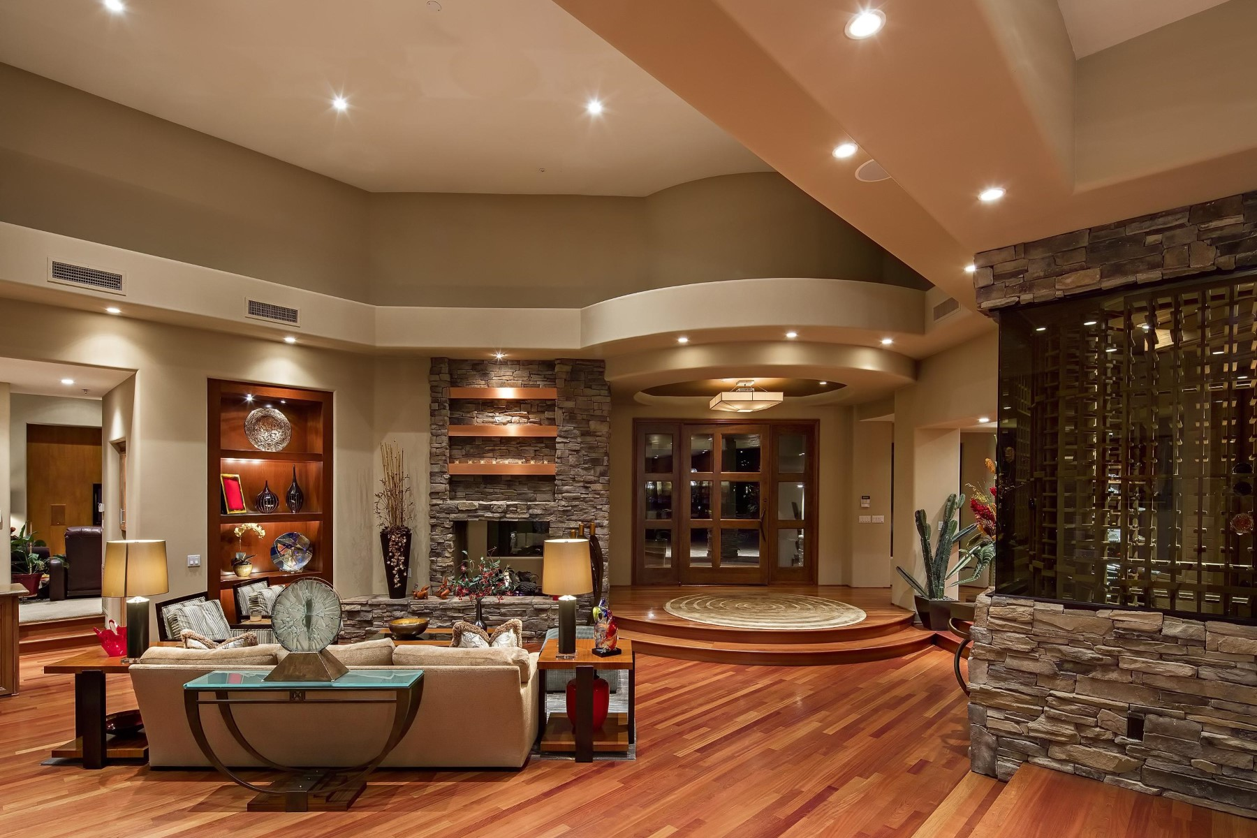 Single Family Home for Sale at Stunning custom home built by the legendary Homes by Simmons 29575 N 111th Way Scottsdale, Arizona 85262 United States