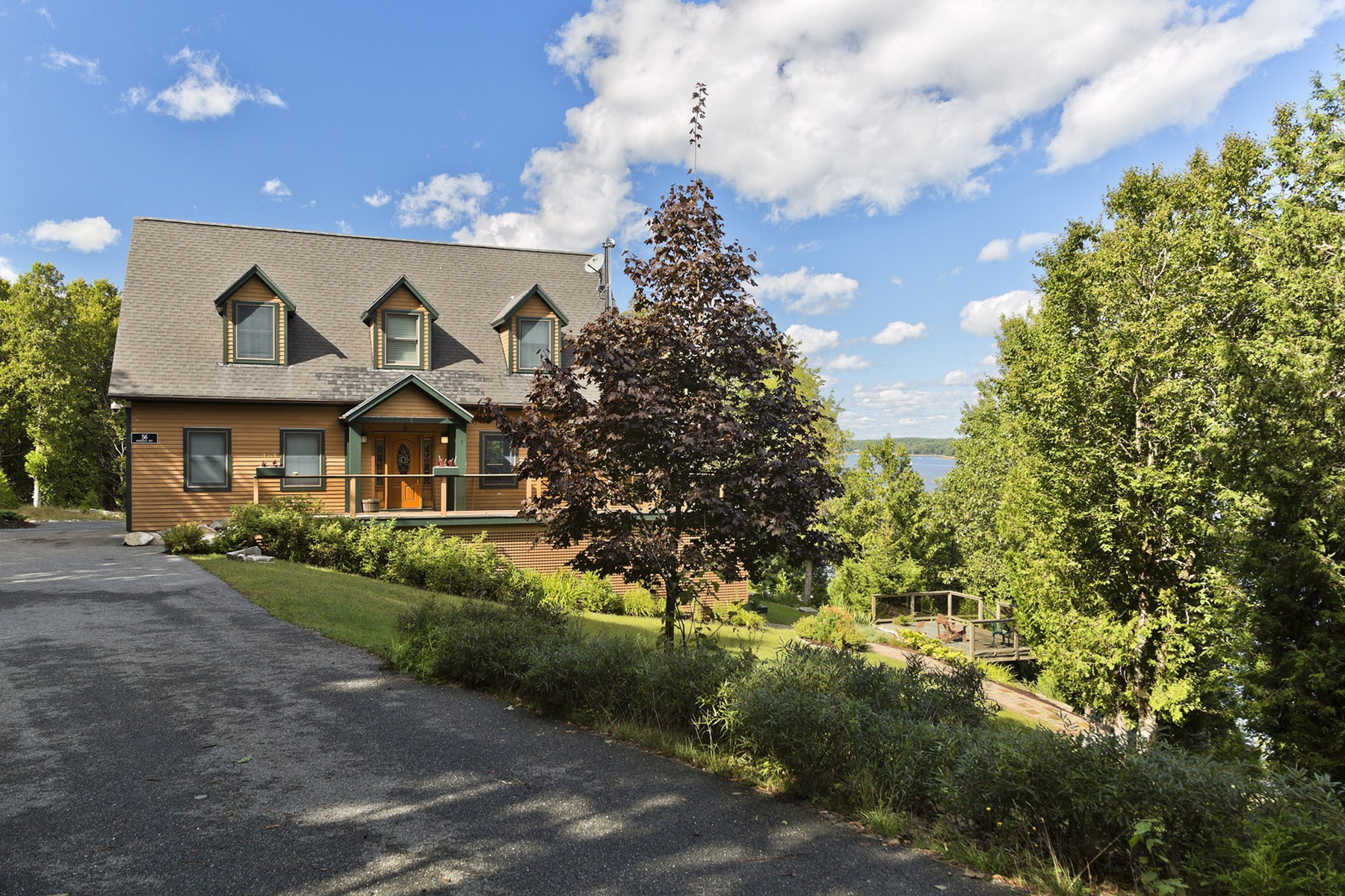 Single Family Home for Sale at Fjord House 56 Hannibals Way Mount Desert, Maine, 04660 United States