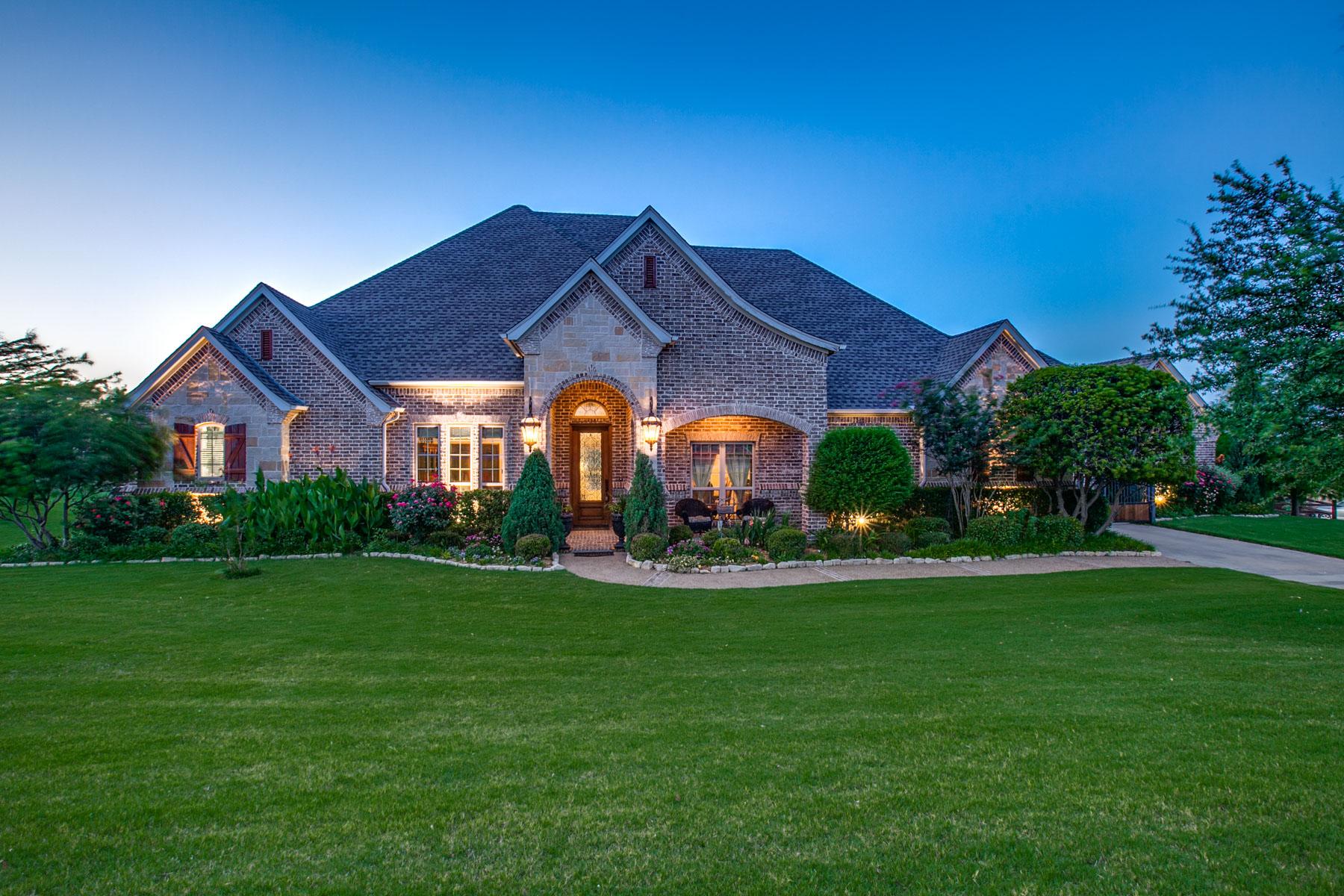 独户住宅 为 销售 在 Vista Ranch Beauty 1309 Meredith Creek Lane 沃斯堡市, 得克萨斯州, 76179 美国