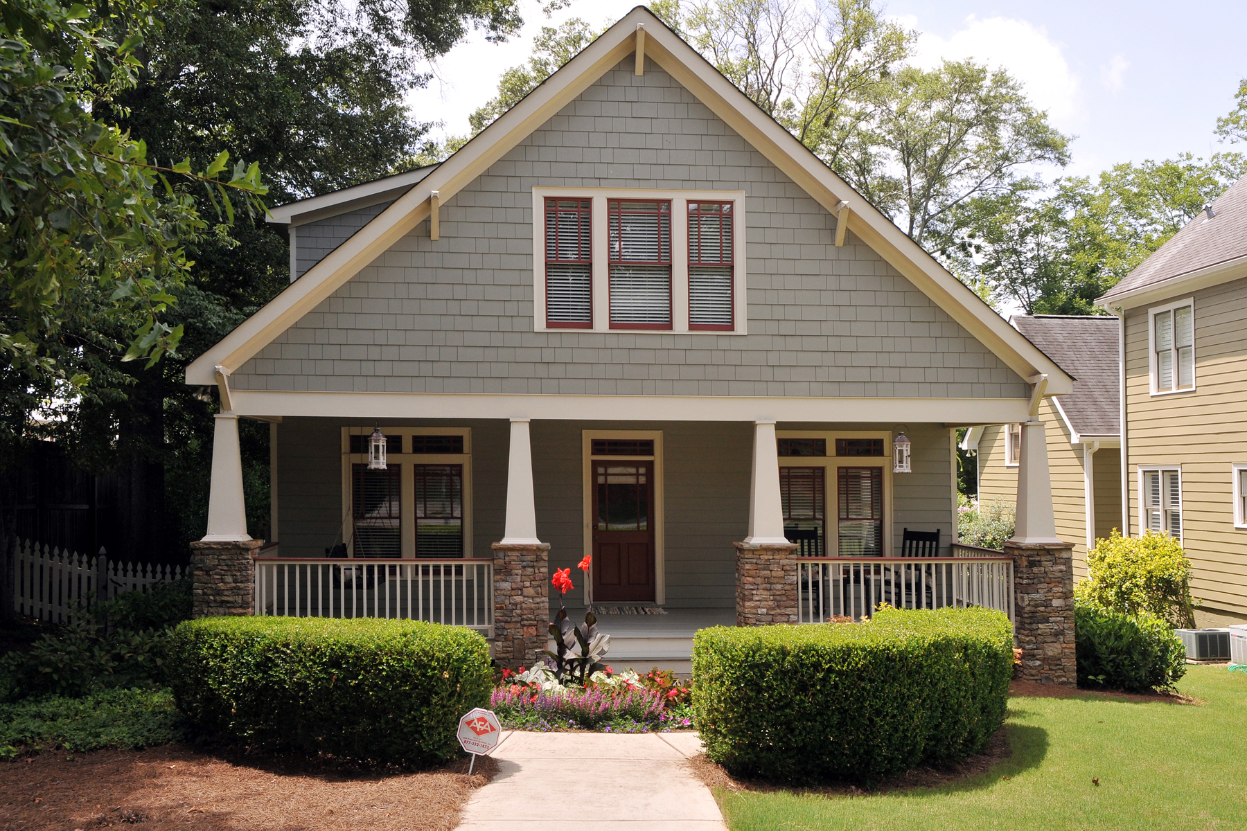 Single Family Home for Active at Charming Craftsman Design 1620 Spring Street Smyrna, Georgia 30080 United States