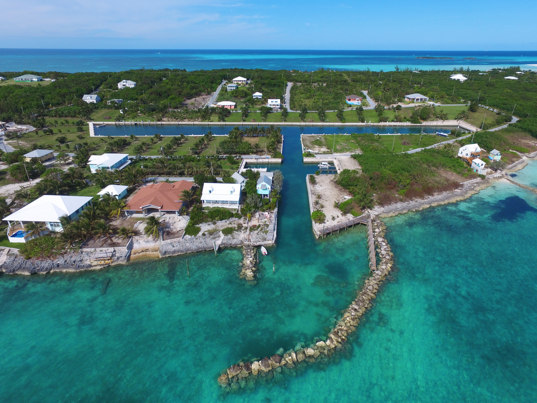 Land for Sale at Canal Lot 11 - Pelican Bay Spanish Wells, Eleuthera Bahamas