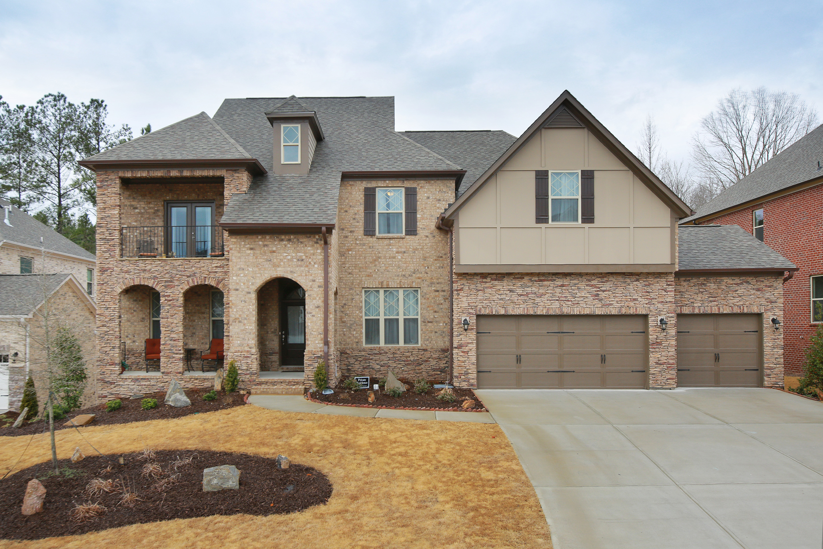 Single Family Home for Sale at One of a Kind Tara Floor Plan with Double Porches 2550 Maple Ridge Lane Cumming, Georgia, 30041 United States