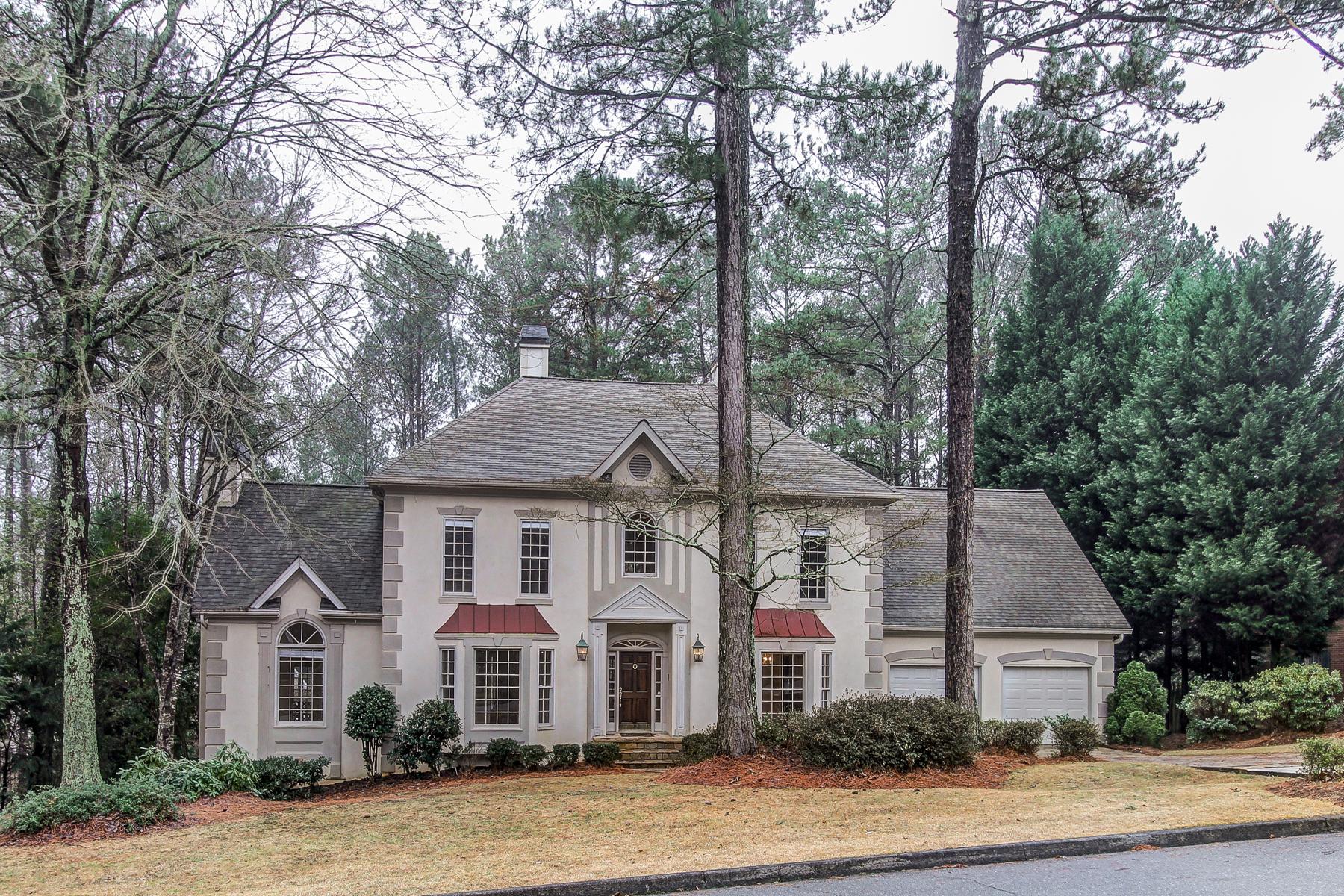 Villa per Vendita alle ore Roswell Traditional 5900 Plantation Drive Roswell, Georgia 30075 Stati Uniti