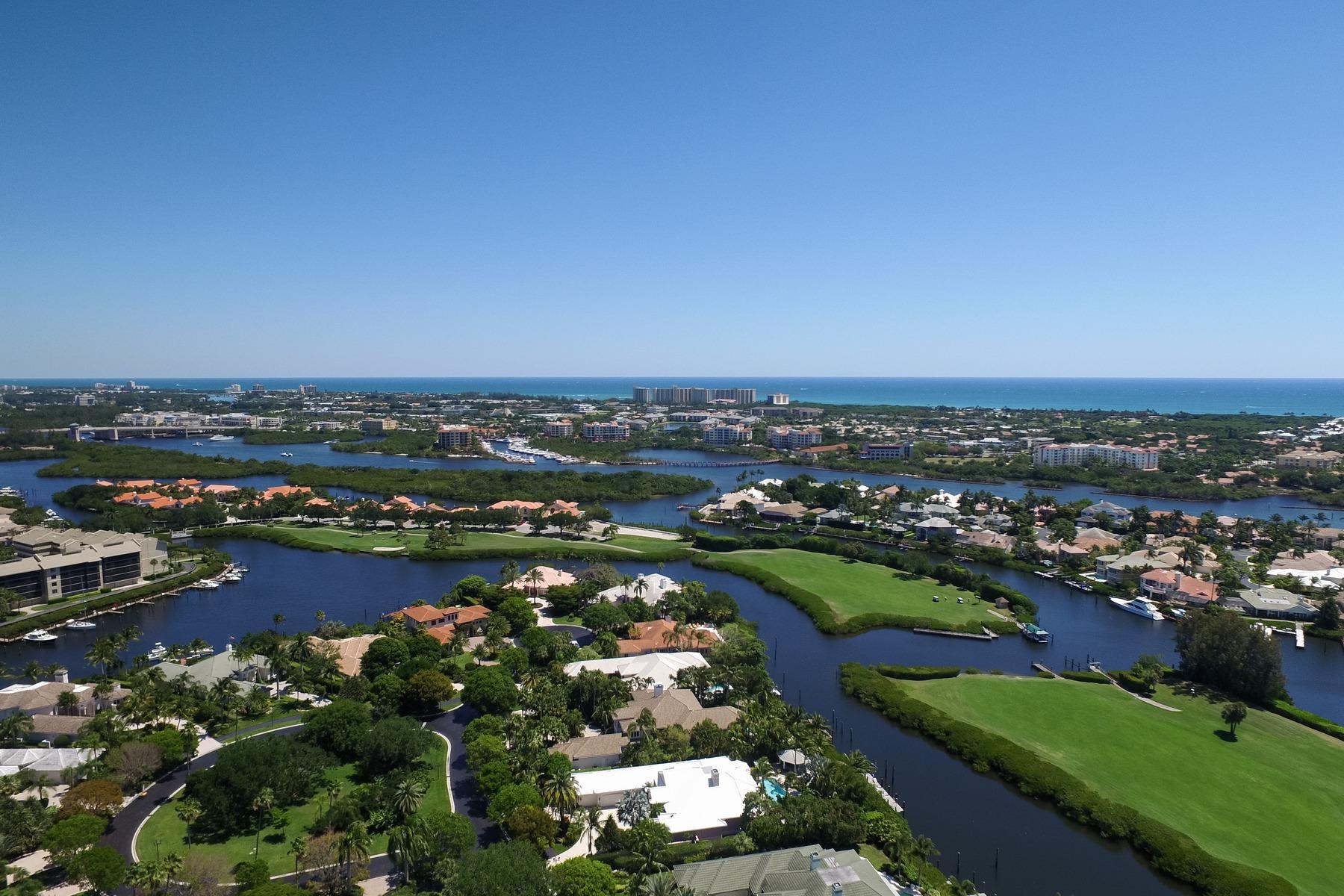 Maison unifamiliale pour l Vente à 3404 Barrow Island Jonathans Landing, Jupiter, Florida, 33477 États-Unis