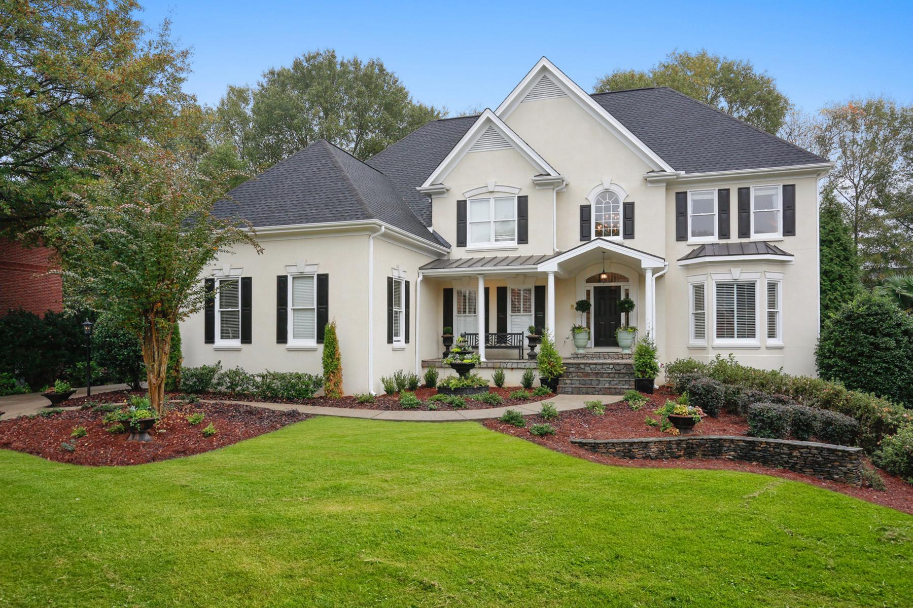 Maison unifamiliale pour l Vente à Immaculate And Feels Fabulously New 250 Seale Lane Alpharetta, Georgia 30022 États-Unis