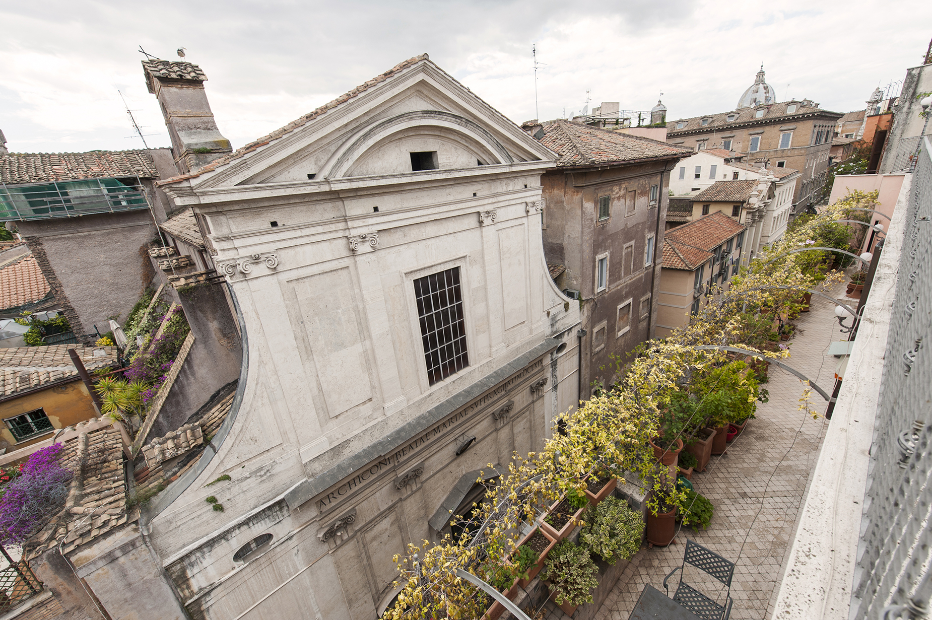 Apartment for Rent at Charming penthouse in Via Giulia Rome, Rome Italy
