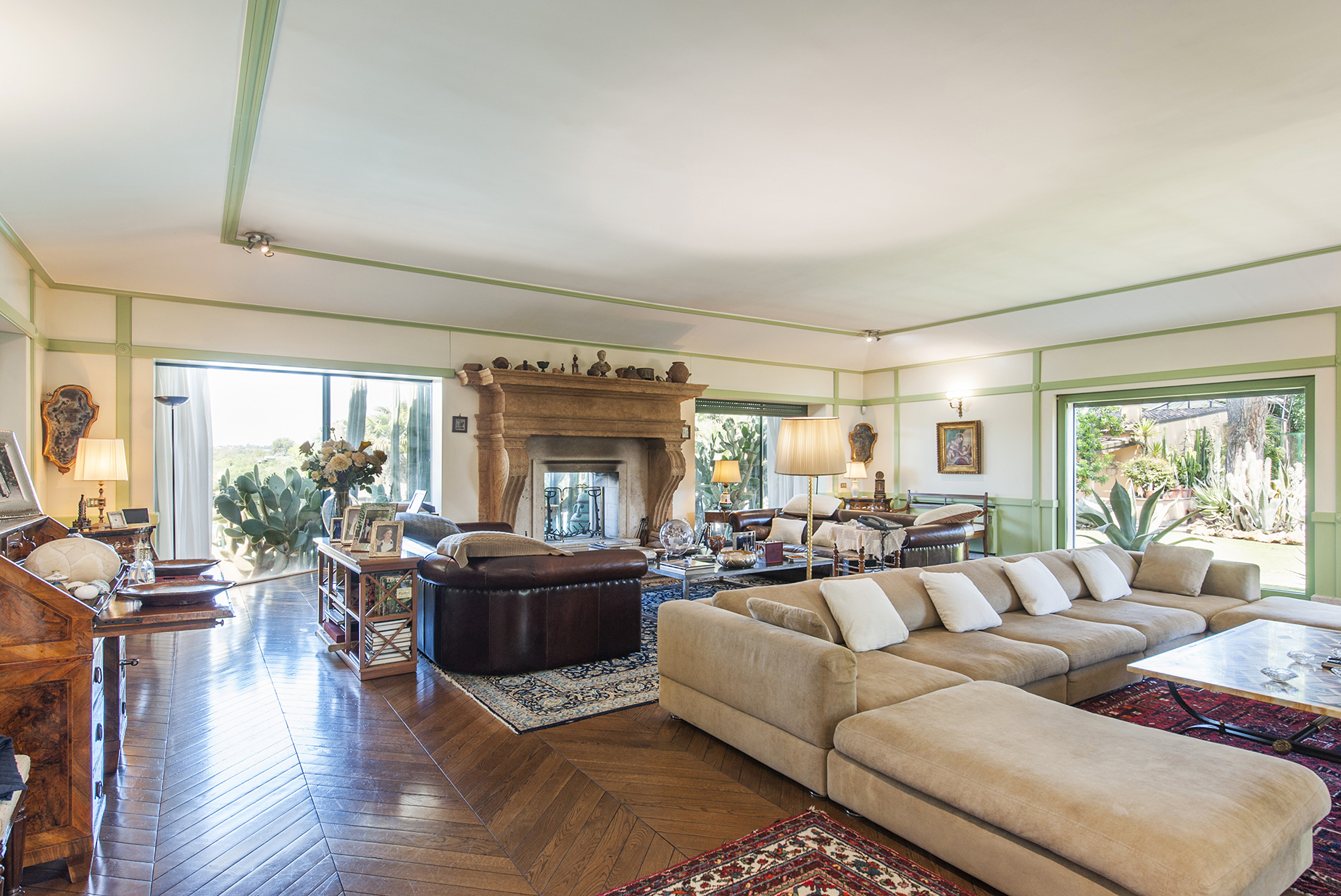 Single Family Home for Sale at Wonderful Villa with pool in the northern site of the city Via di Valle Vescovo Rome, Rome 00189 Italy