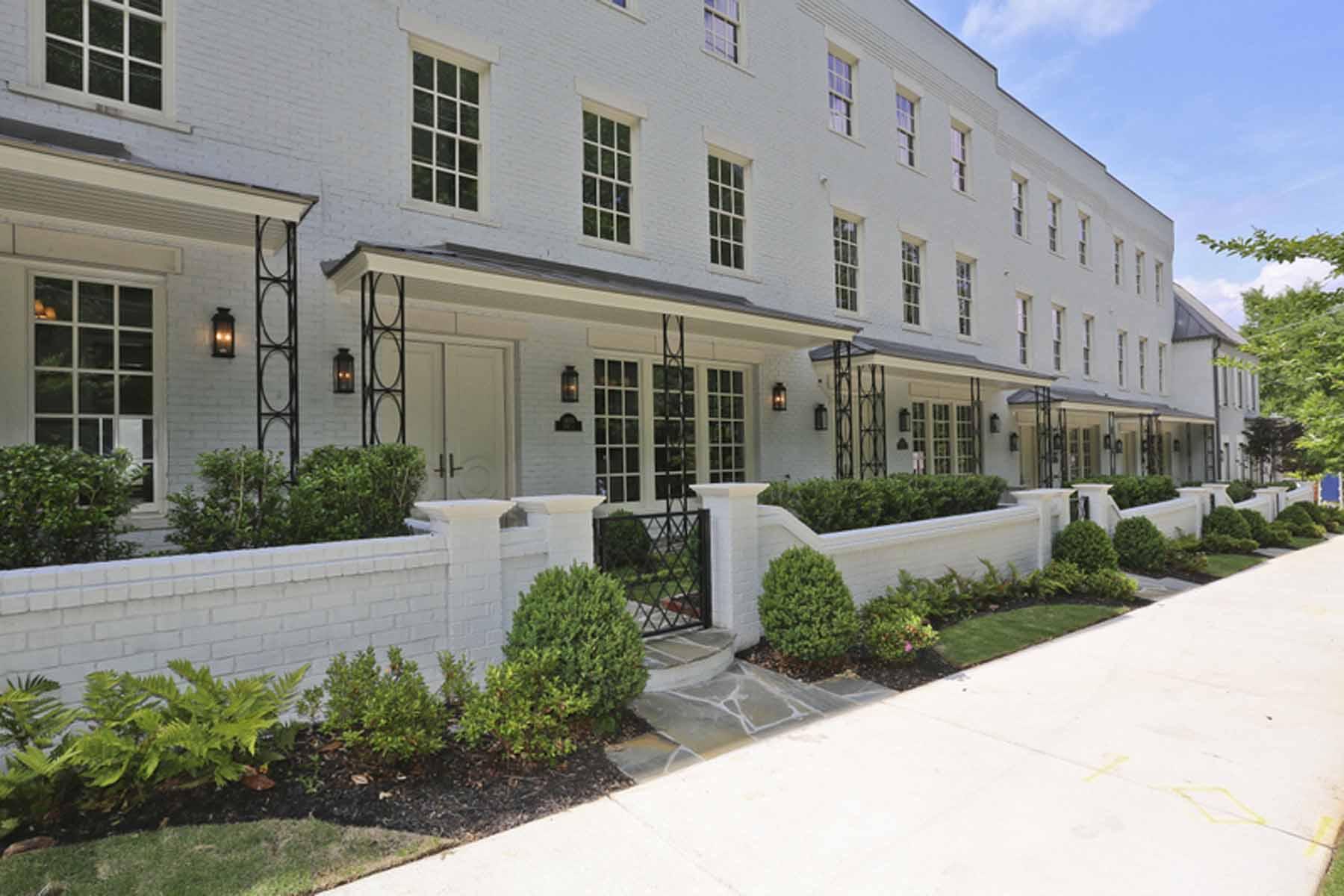 Таунхаус для того Продажа на BRAND NEW TOWNHOME BY MONTE HEWETT HOMES. 1400 Piedmont Avenue NE No. 5 Atlanta, Джорджия, 30309 Соединенные Штаты