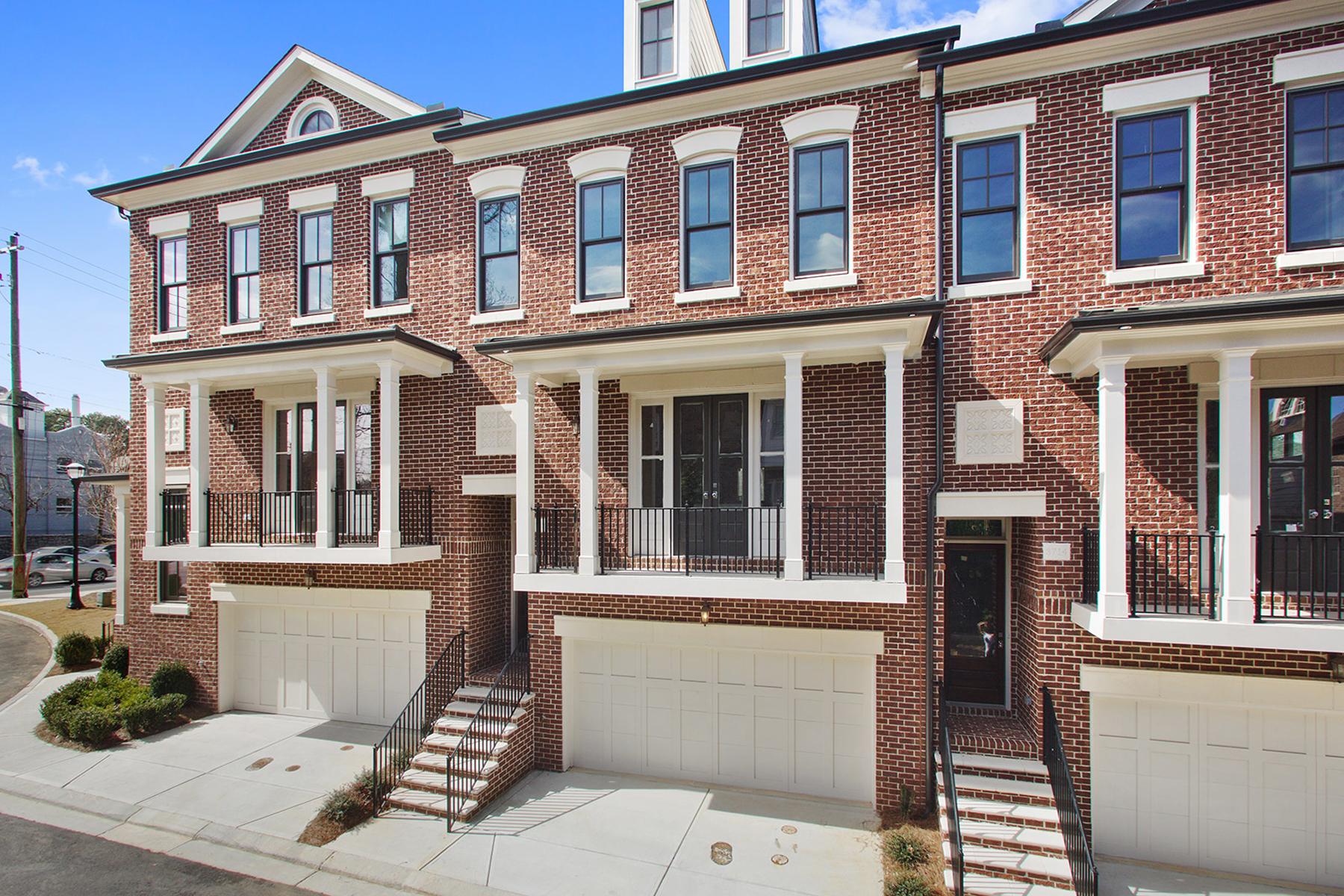 Townhouse for Sale at 3700 Peachtree 3700 Peachtree Road #2 Atlanta, Georgia, 30319 United States