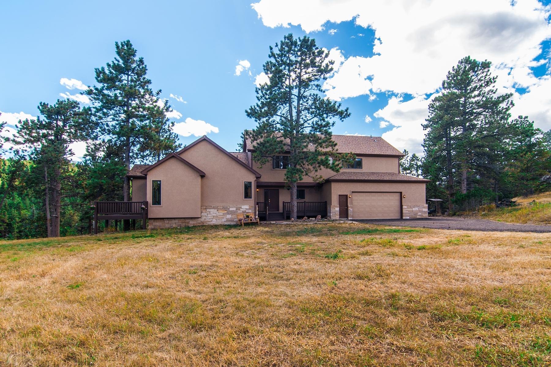 Maison unifamiliale pour l Vente à Tranquil Location with Beautiful Mountain Views 21362 Twin Peaks Lane Morrison, Colorado 80465 États-Unis