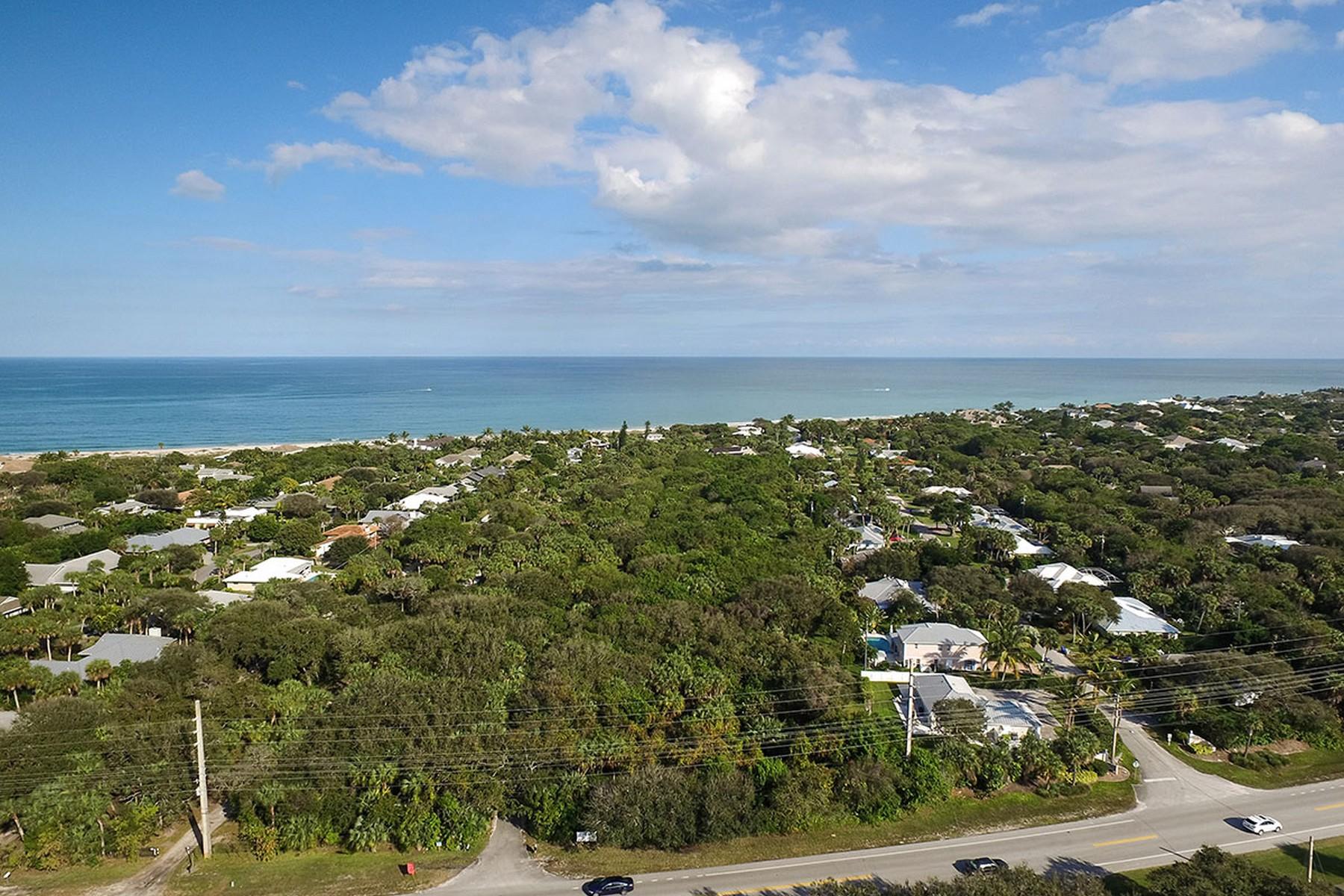 Земля для того Продажа на Magnificent Oceanfront Homesite-3 Homesites Total 660 Highway A1A Vero Beach, Флорида, 32963 Соединенные Штаты