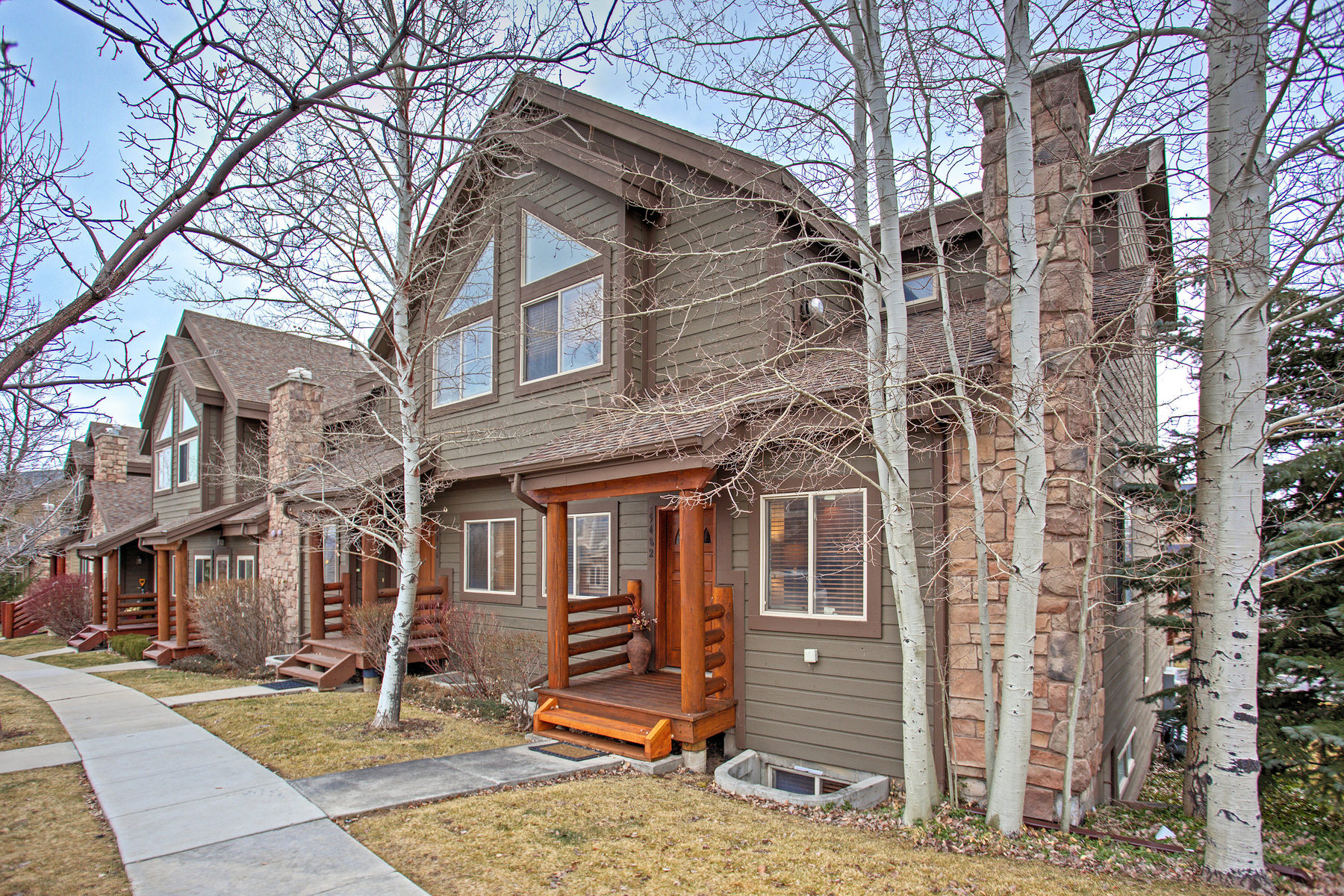 Townhouse for Sale at Bright 5 Bdrm End Unit in Bear Hollow 5482 N Bobsled Blvd #T-18 Park City, Utah 84098 United States
