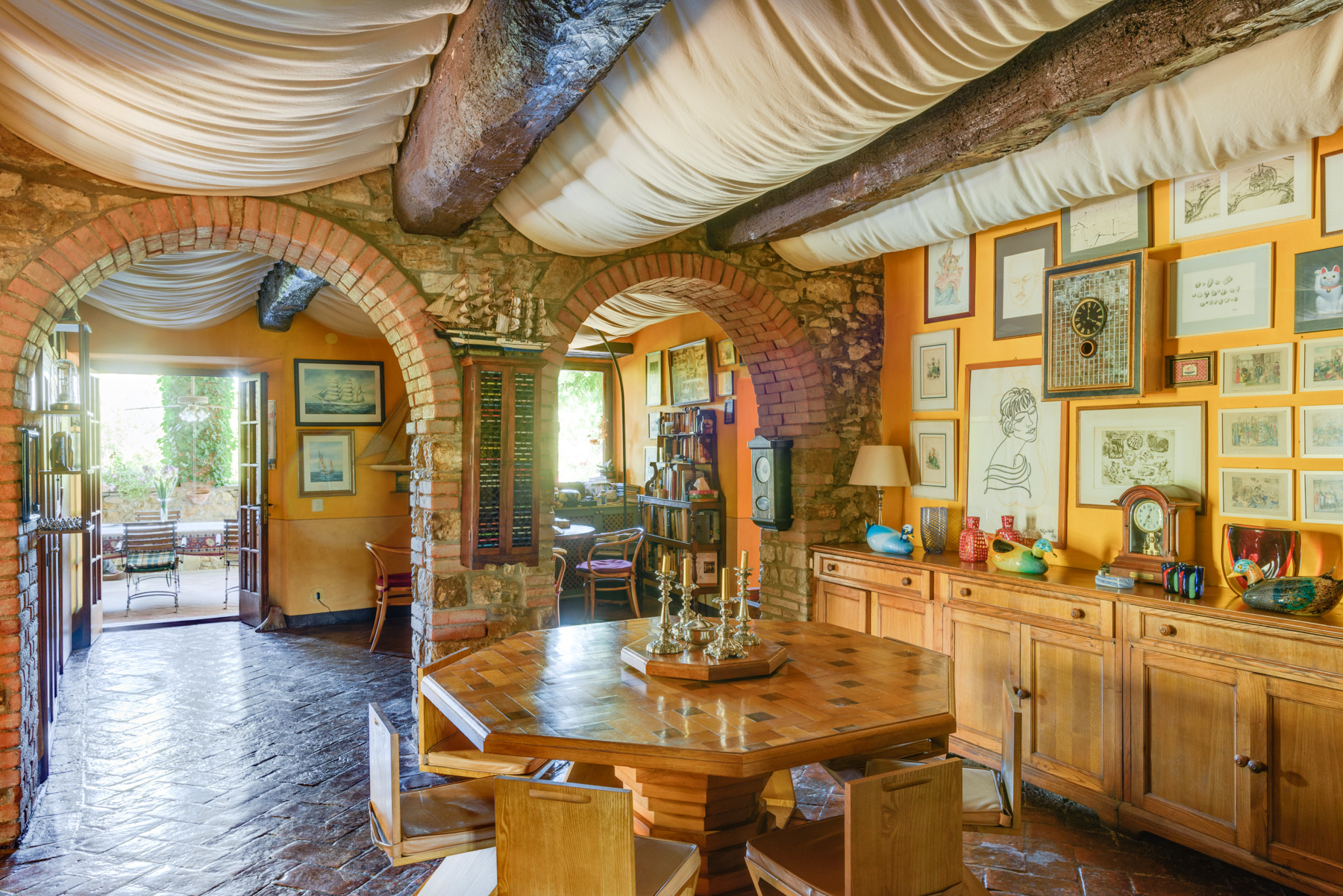 Single Family Home for Sale at Chianti Country Estate with vineyard Loc. Lo Spicchio Radda In Chianti, Siena, 53017 Tuscany, Italy