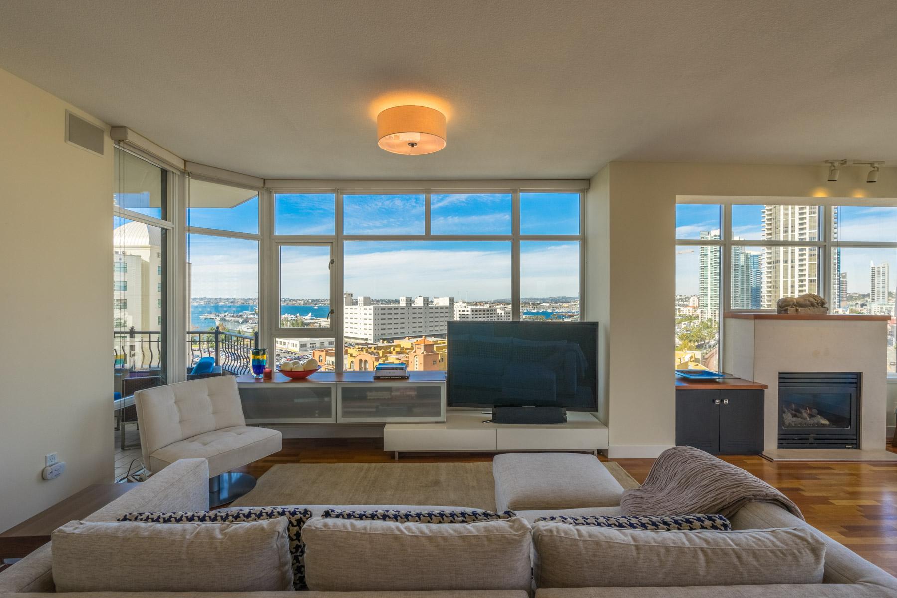Condomínio para Venda às Park Place 700 West Harbor Dr 1201 San Diego, Califórnia 92101 Estados Unidos