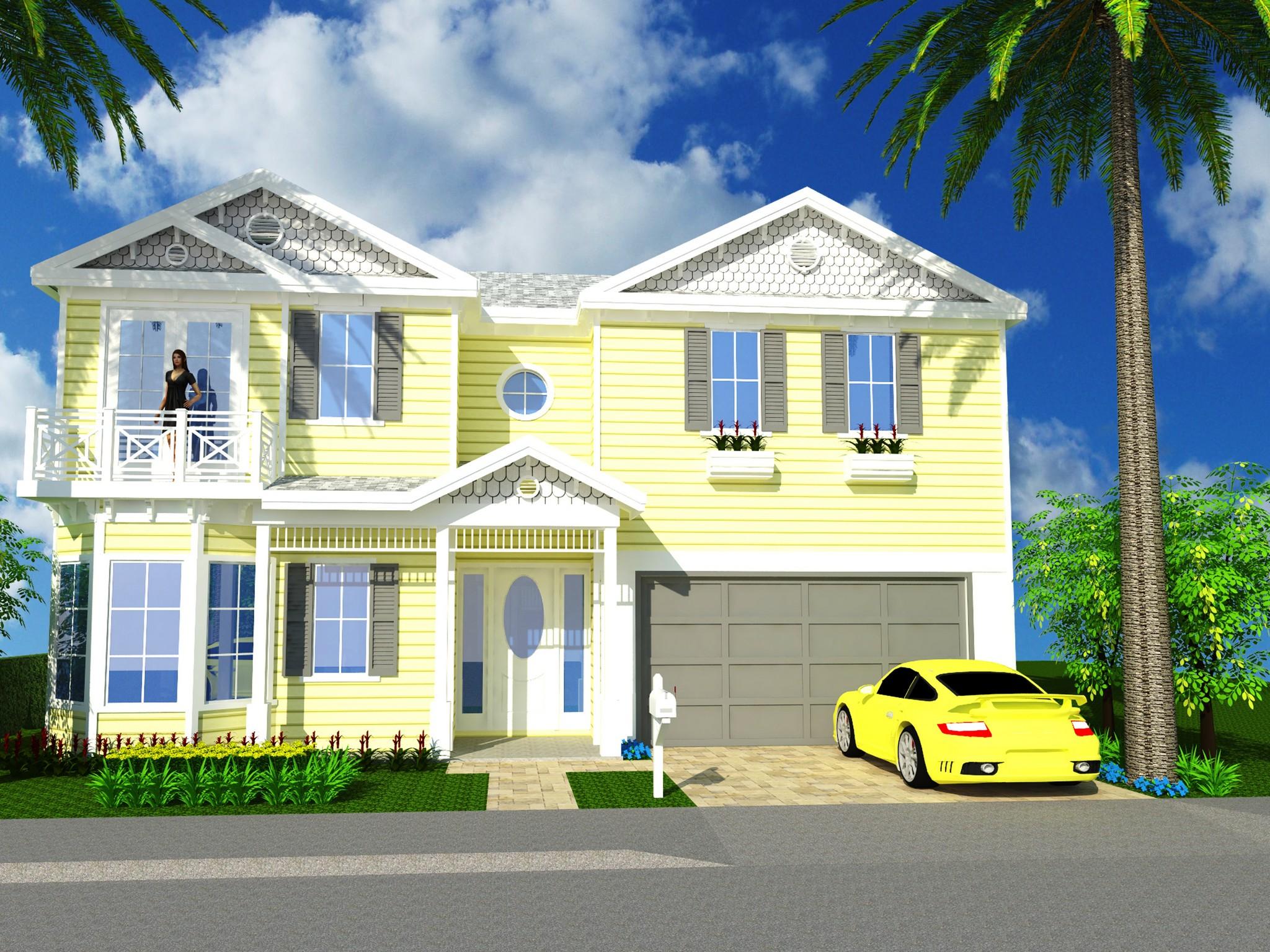 Nhà ở một gia đình vì Bán tại Avalon Beach New Home 121 Ocean Estates Drive Fort Pierce, Florida, 34949 Hoa Kỳ