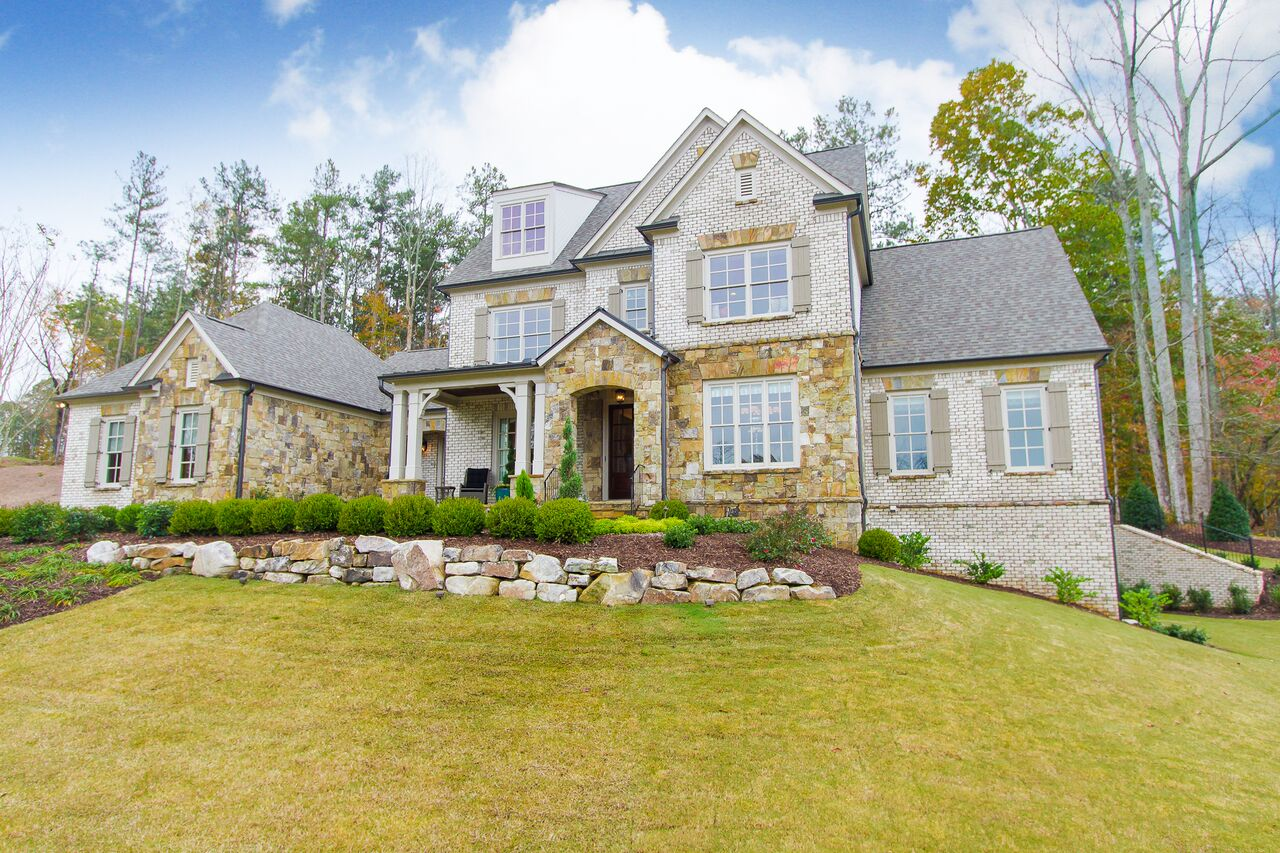 Single Family Home for Active at Stunning New Construction in The Manor Golf and Country Club 1016 Summit View Lane Milton, Georgia 30004 United States