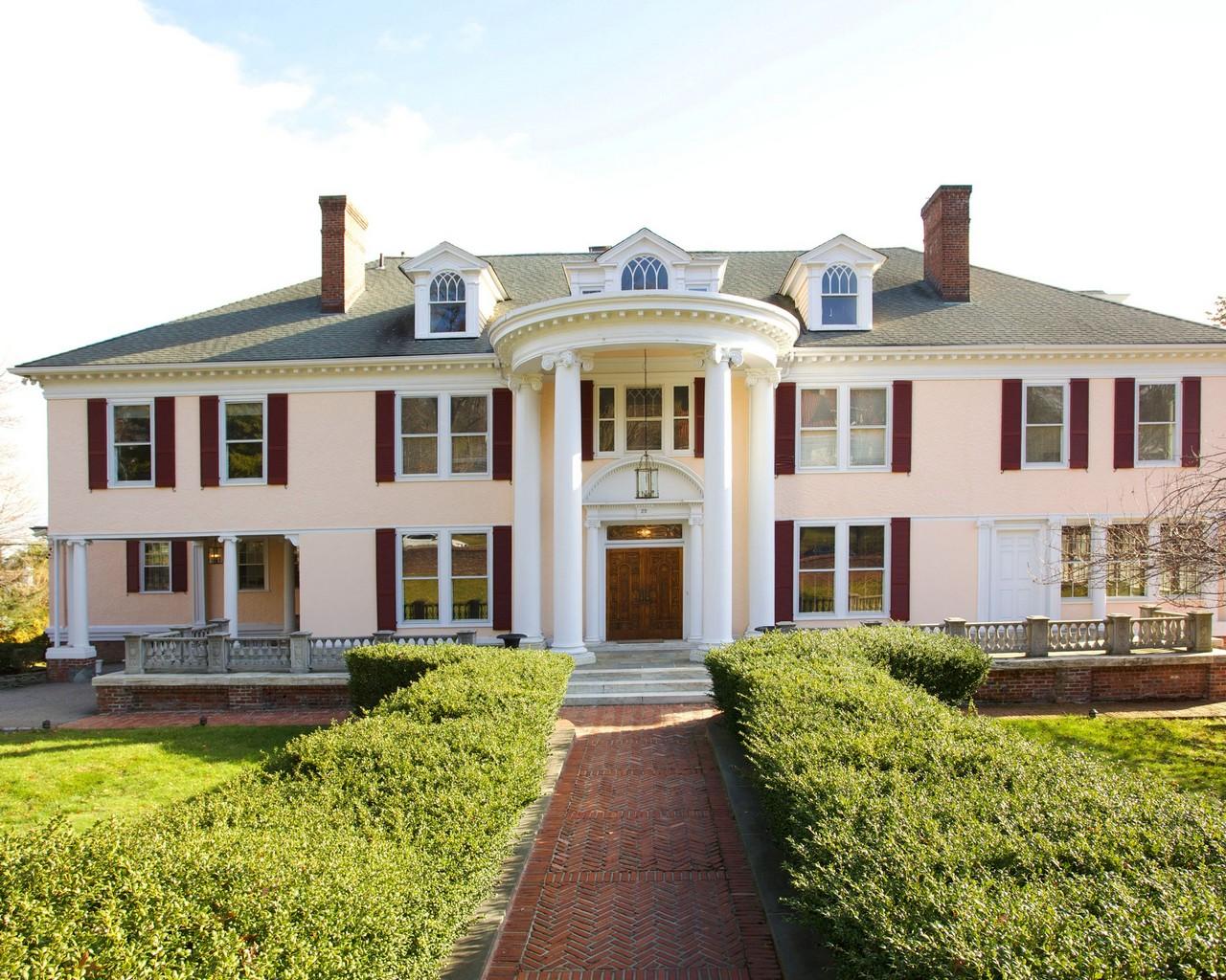 Частный односемейный дом для того Аренда на Gorgeous Classical Estate 25 Prospect Avenue Montclair, Нью-Джерси, 07042 Соединенные Штаты
