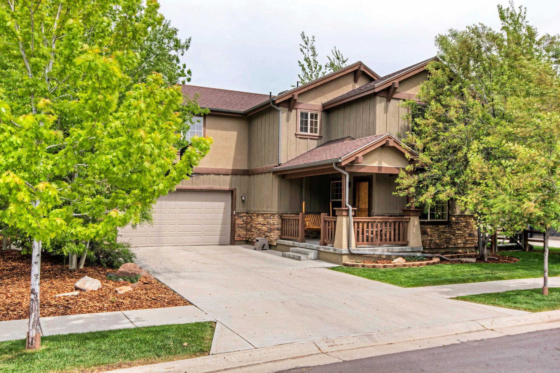 独户住宅 为 销售 在 Amazing Location Charming Style 5661 N Aspenleaf Dr 帕克城, 犹他州, 84098 美国