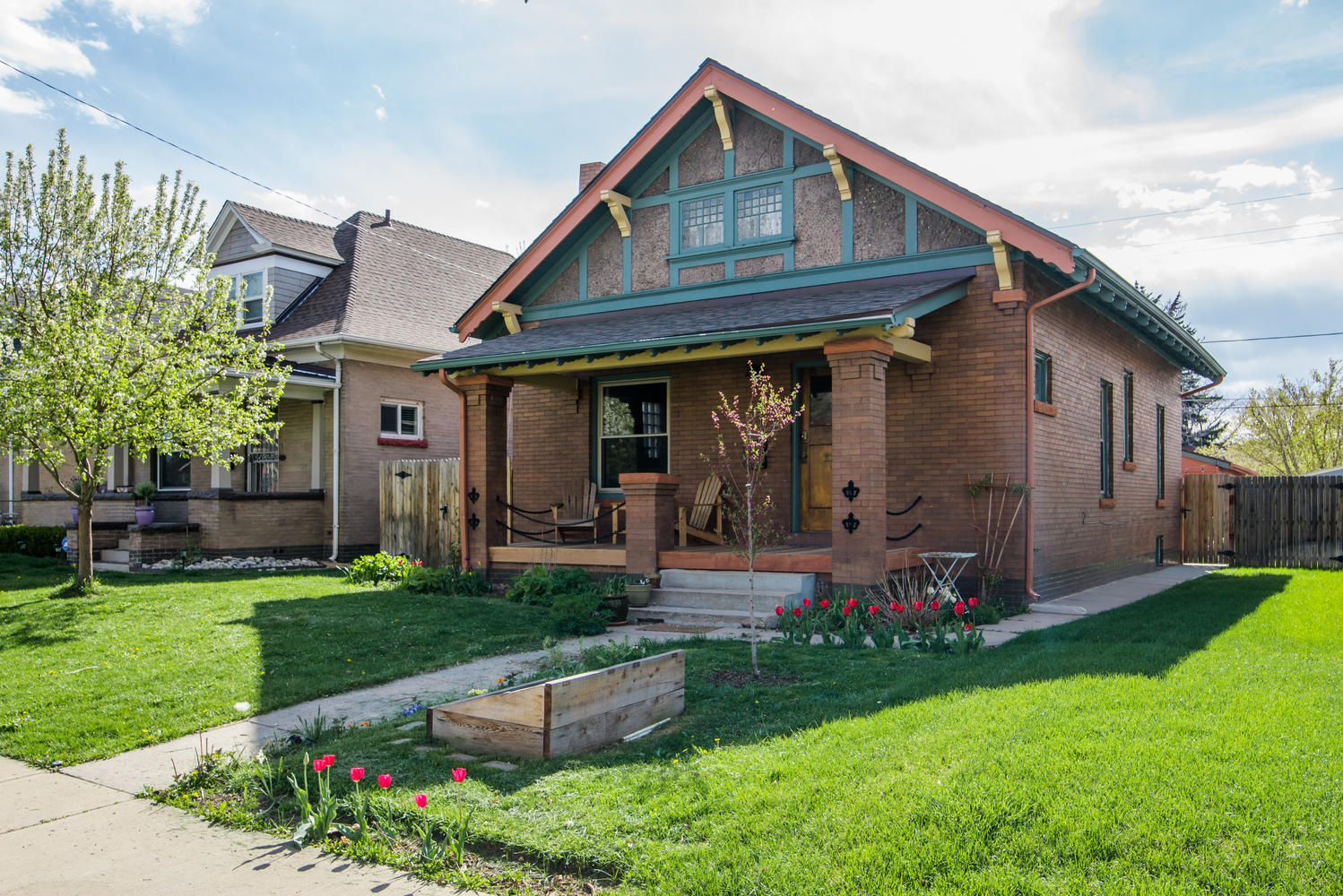 Single Family Home for Sale at Super cute Whittier Bungalow 3139 N Gaylord St Whittier, Denver, Colorado, 80205 United States