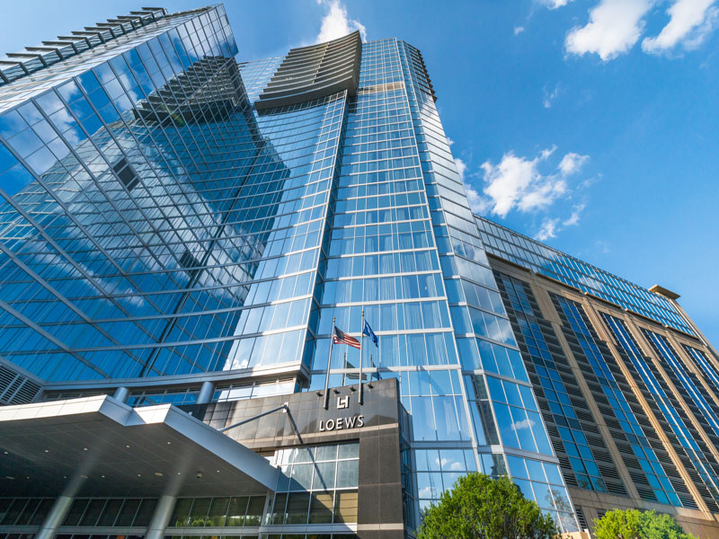 Condominium for Sale at LUXURY OFFERING ABOVE THE LOEWS ATLANTA HOTEL 1065 Peachtree Street NE No. 3405 Atlanta, Georgia, 30309 United States