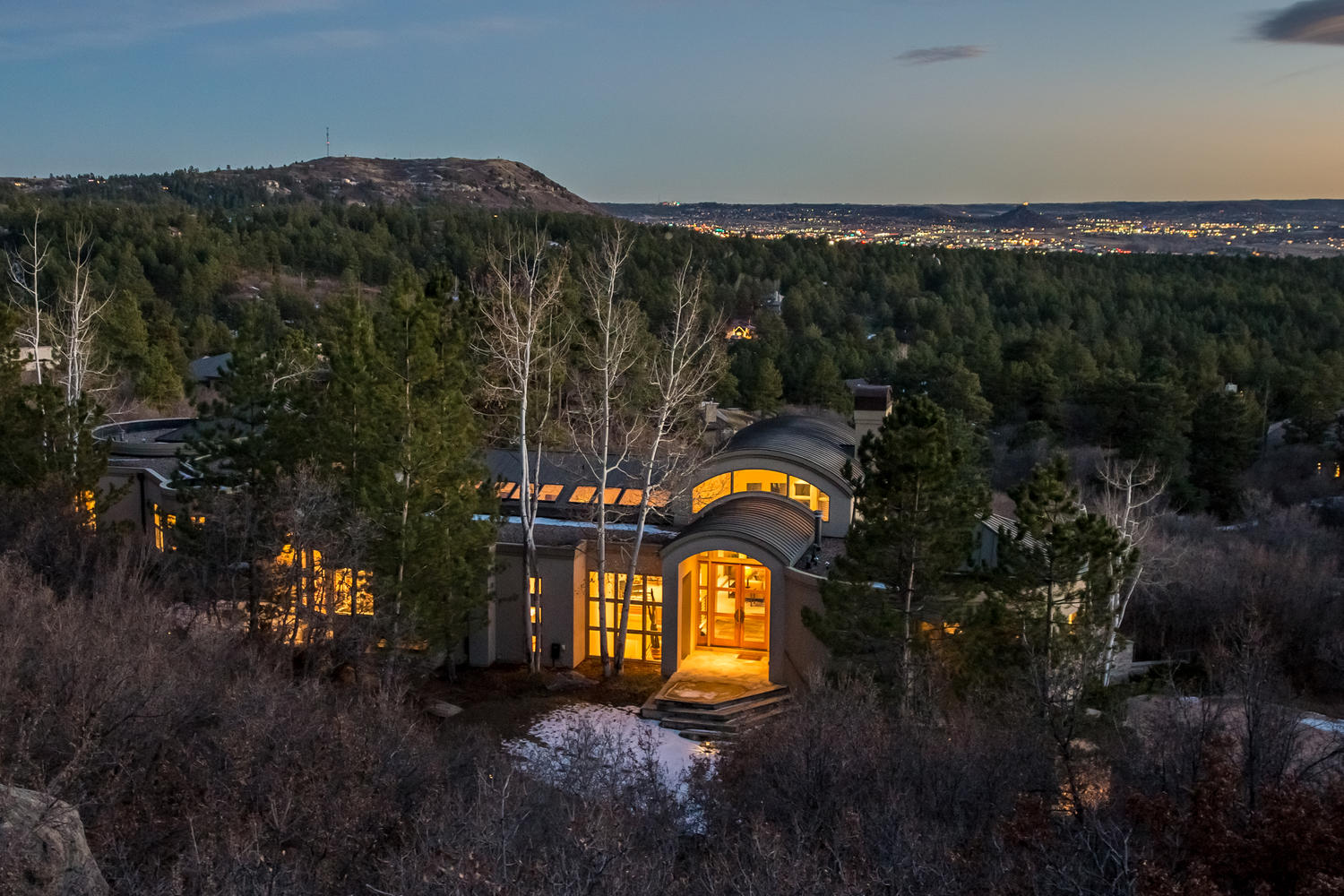 "Single Family Home for Sale at ""Top Of The World"" mountain views! 5 Borealis Way Castle Rock, Colorado, 80108 United States"