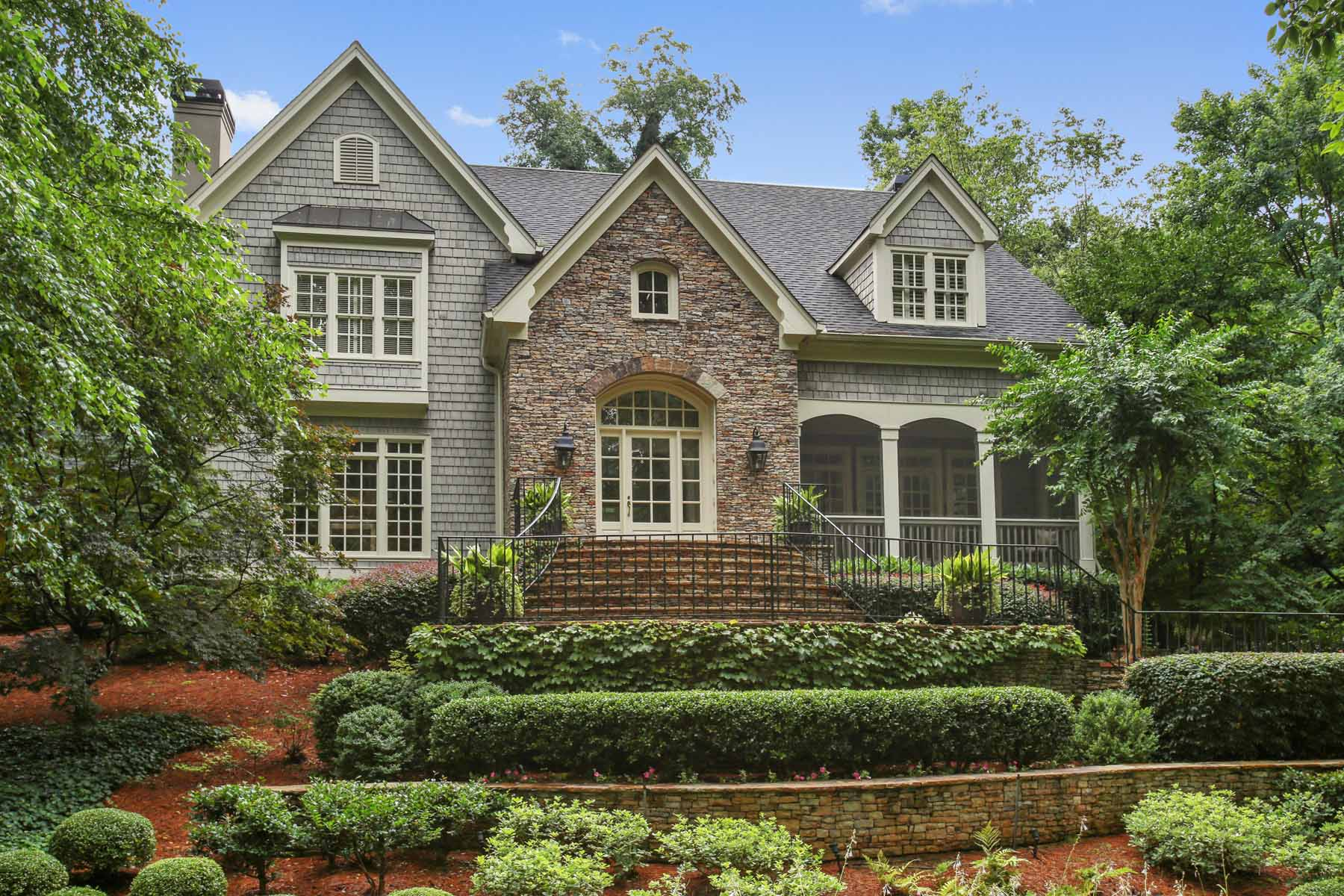 Single Family Home for Sale at Exquisite Historic Brookhaven 4412 Club Drive NE Brookhaven, Atlanta, Georgia, 30319 United States