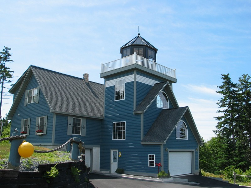 Single Family Home for Sale at Duck Cove Lighthouse 508 Tremont Road Tremont, Maine 04612 United States
