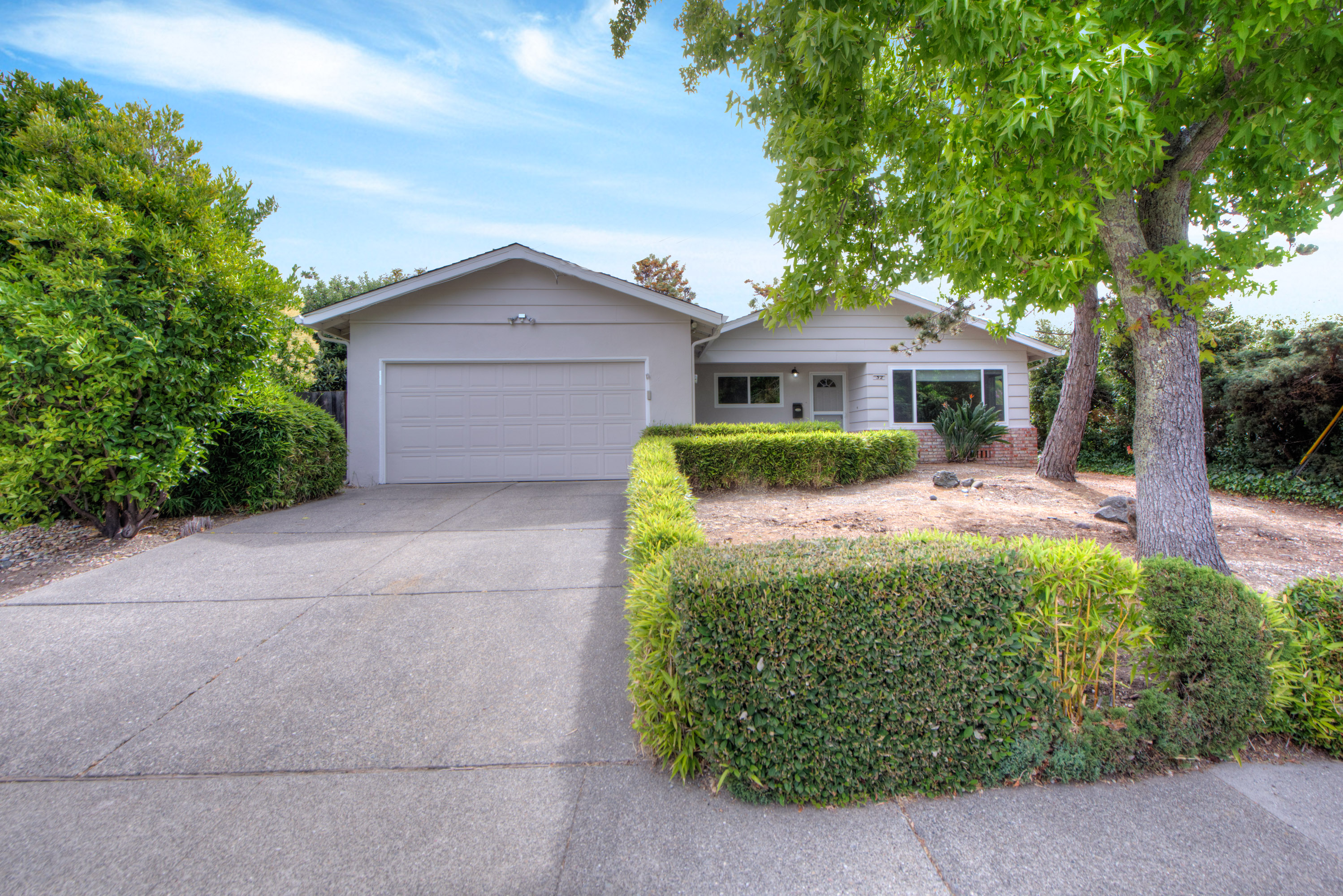 Single Family Home for Sale at Desirable One Story with Level Yard 32 Elena Circle San Rafael, California, 94903 United States