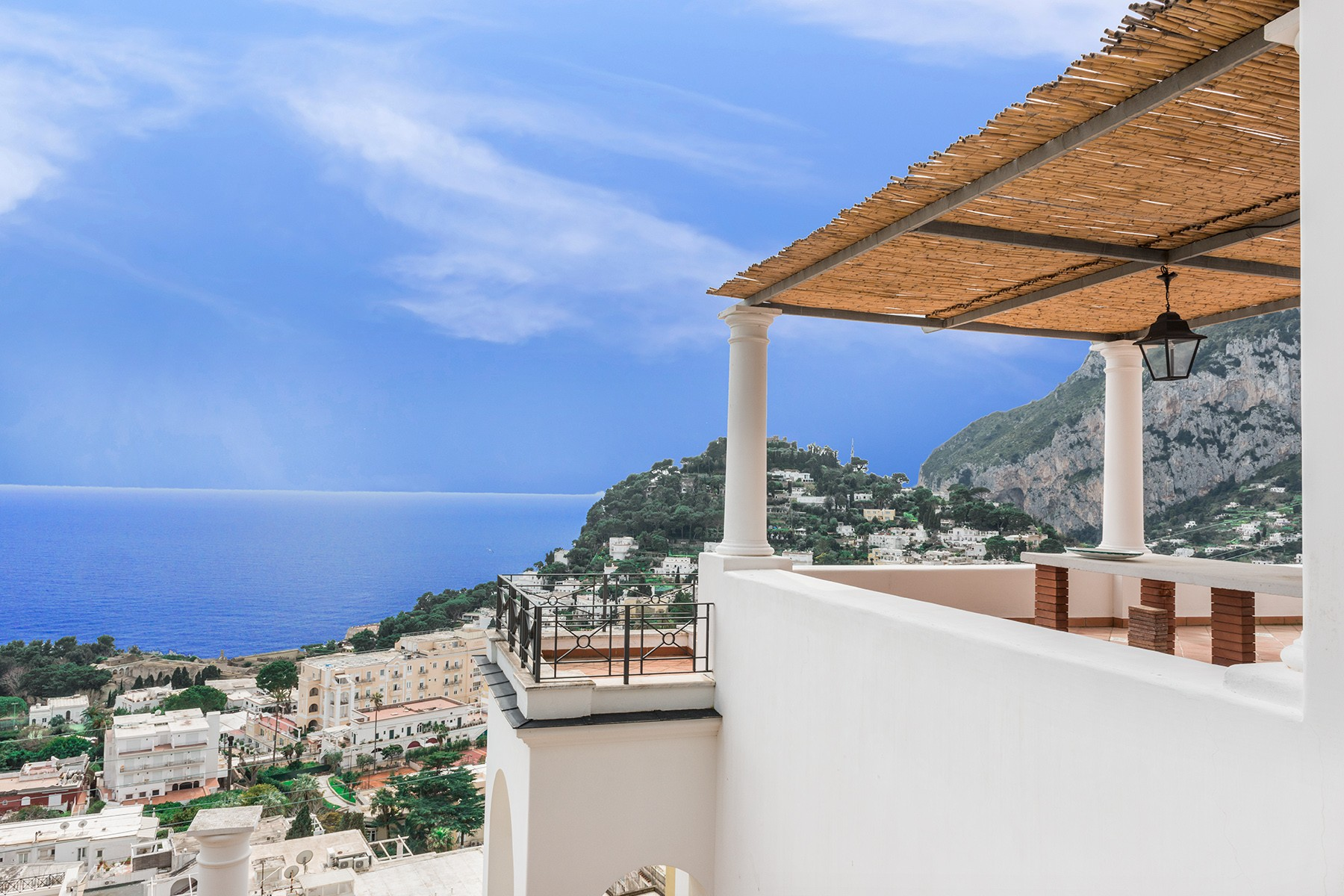 Single Family Home for Sale at A magnificent villa on panoramic Via Belvedere Cesina, Capri Capri, Naples Italy