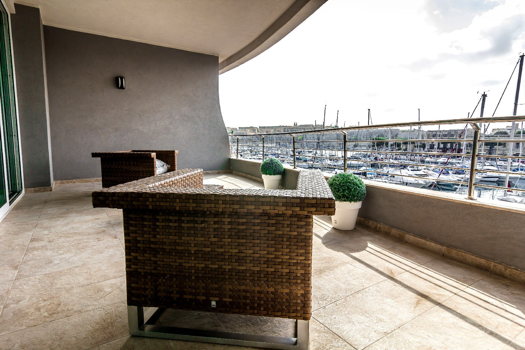 Apartment for Sale at Seafront Luxury Designer Apartment Ta Xbiex, Sliema Valletta Surroundings Malta