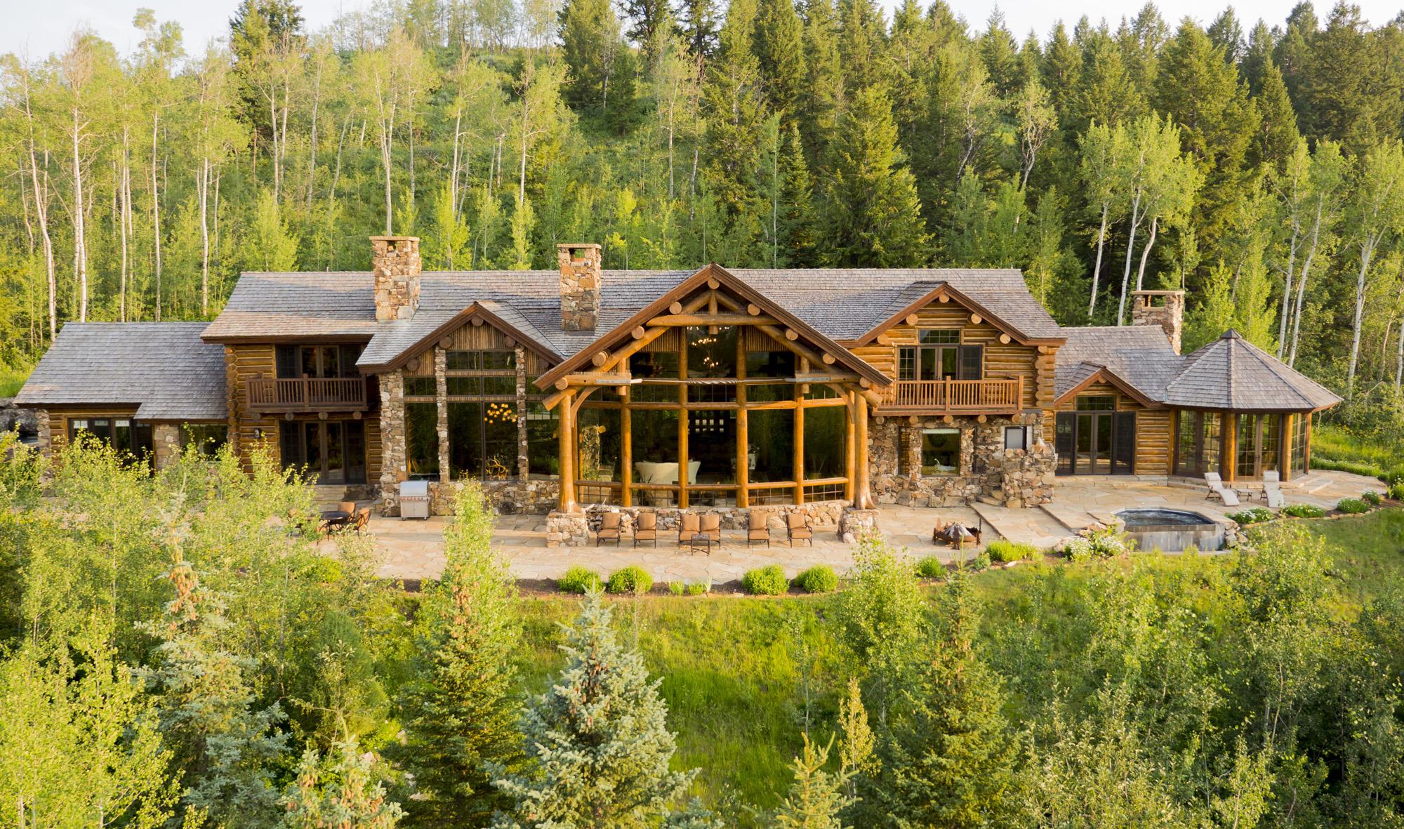 Casa para uma família para Venda às Wild by Nature 520 Indian Springs Road Jackson, Wyoming 83001 Estados Unidos